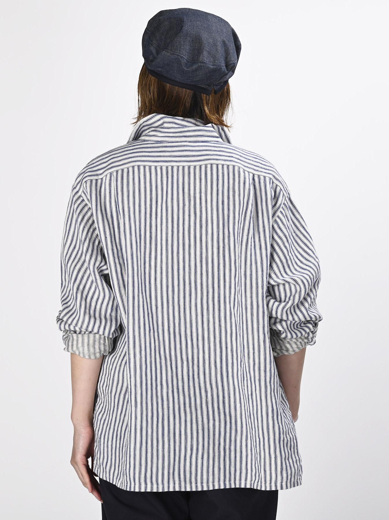 Indian Linen Twill 908 Shirt (0621)-5