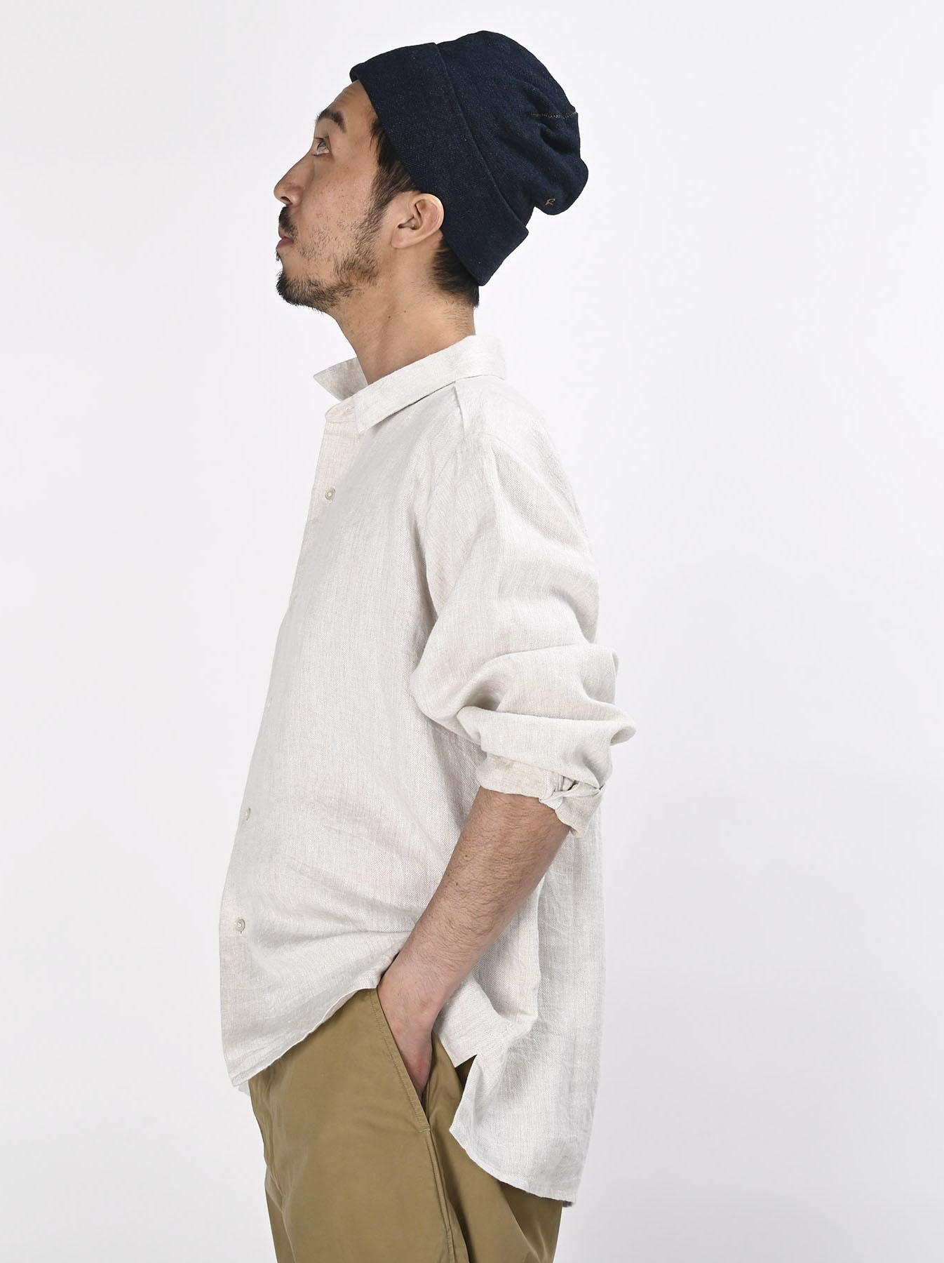 Indian Linen Twill 908 Shirt (0621)-7