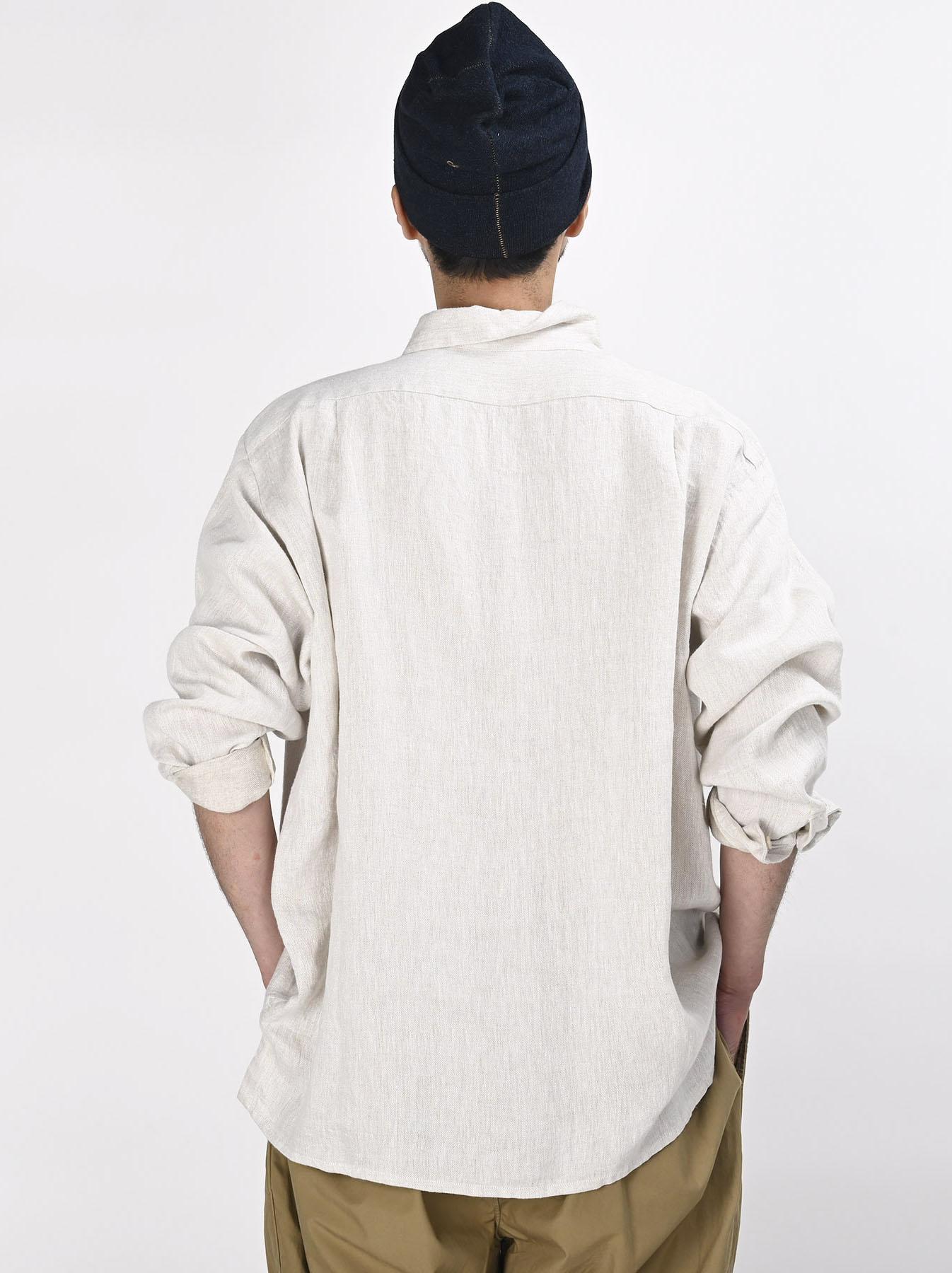 Indian Linen Twill 908 Shirt (0621)-8