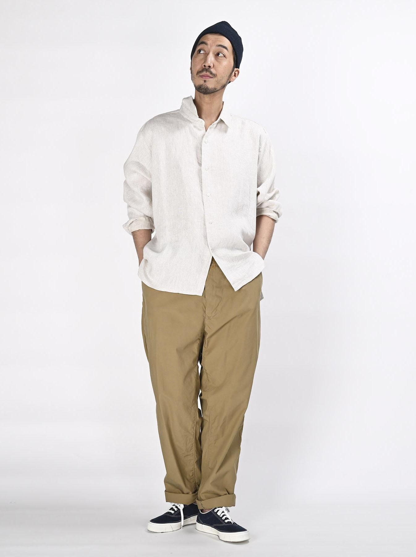 Indian Linen Twill 908 Shirt (0621)-2