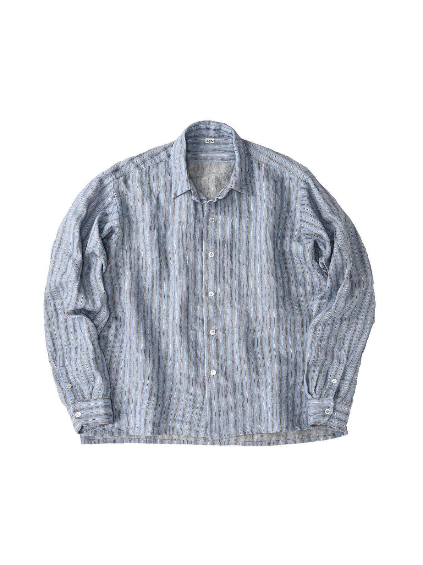 Indian Linen Twill 908 Shirt (0621)-11