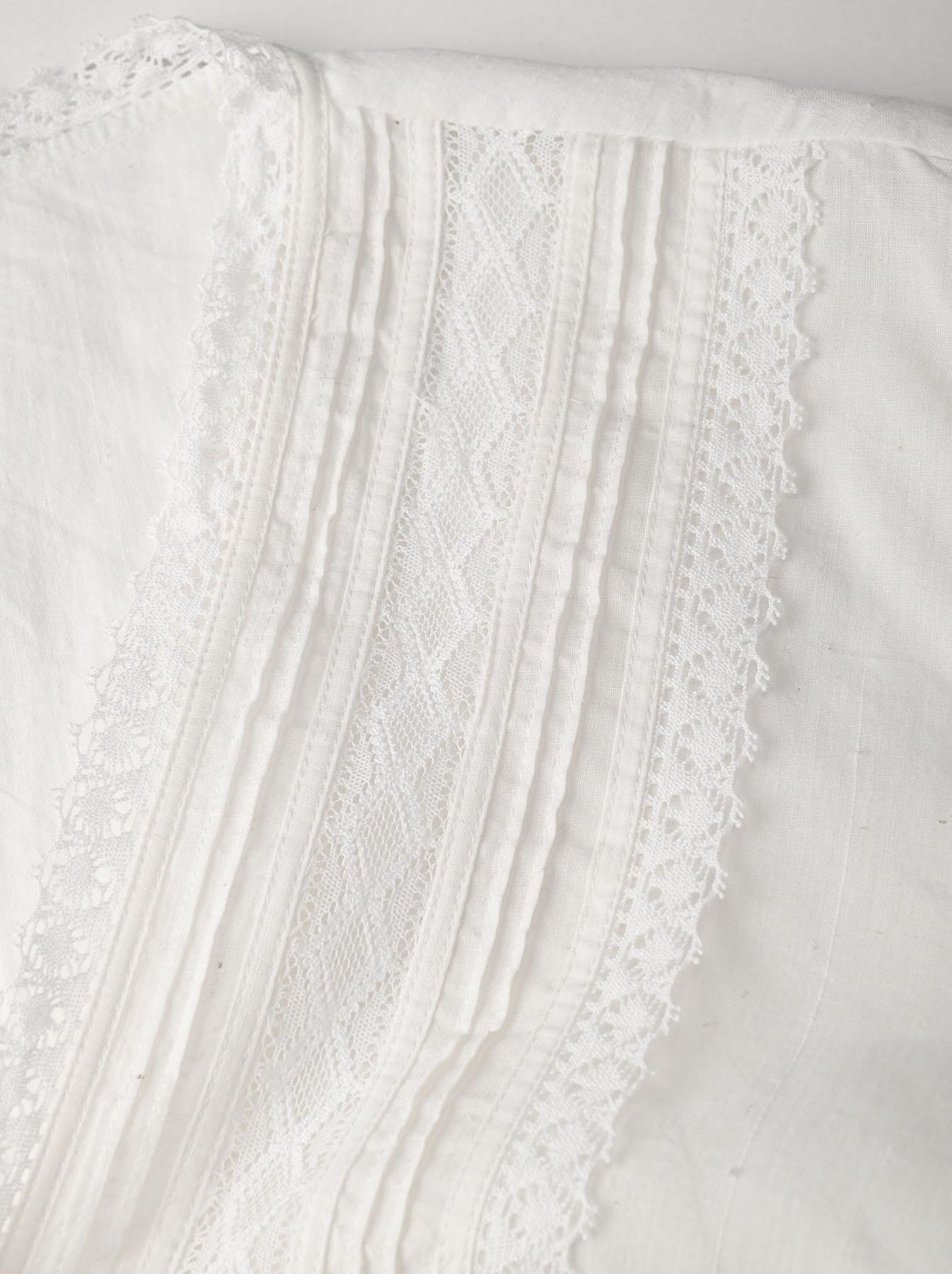 Indian Khadi Lace Cache-coeur Blouse (0621)-8