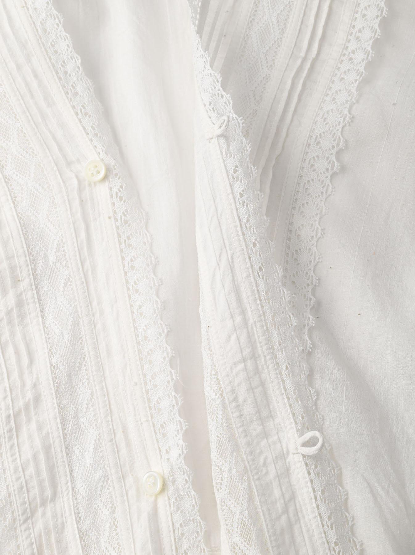 Indian Khadi Lace Cache-coeur Blouse (0621)-9
