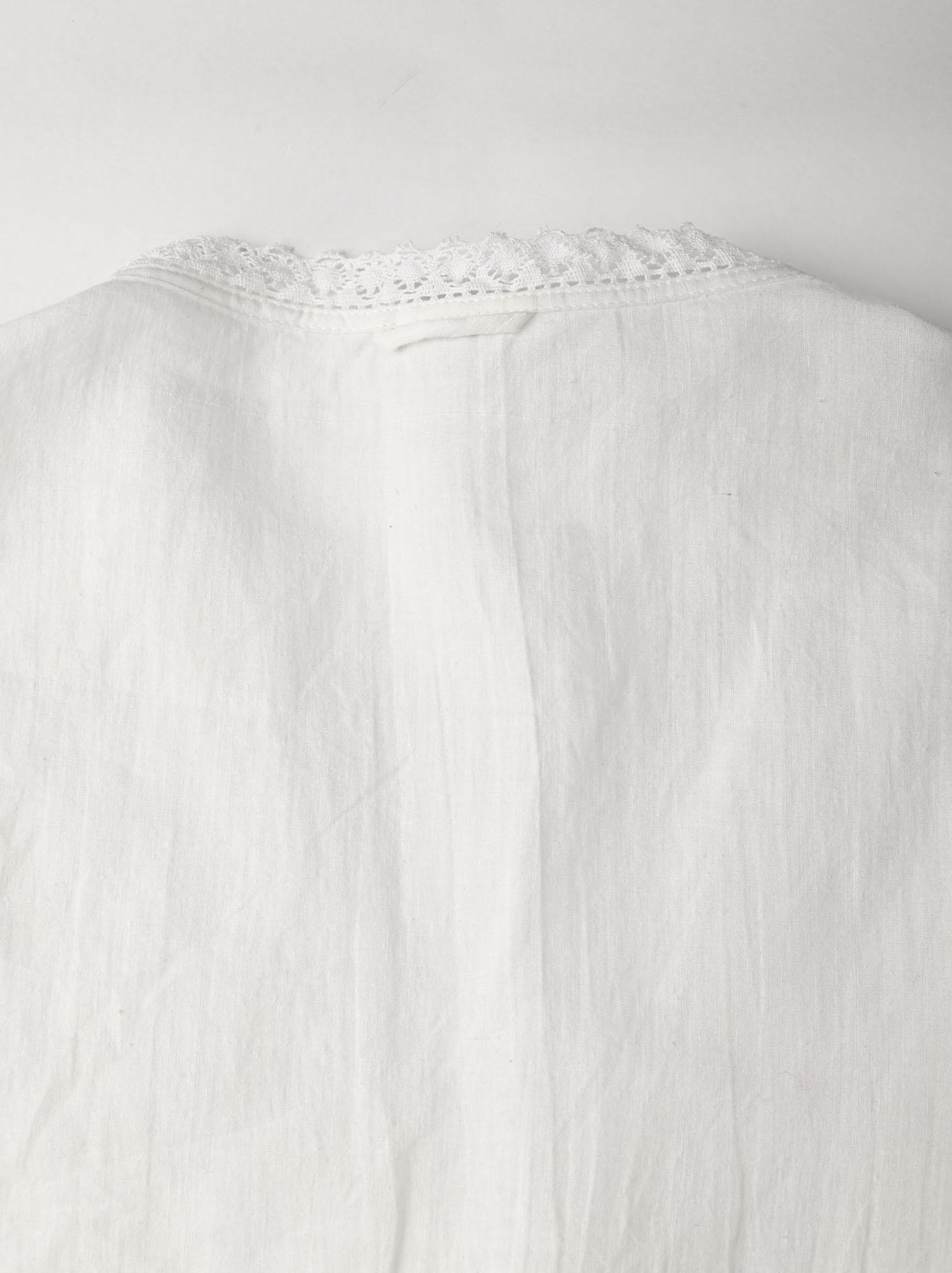 Indian Khadi Lace Cache-coeur Blouse (0621)-12