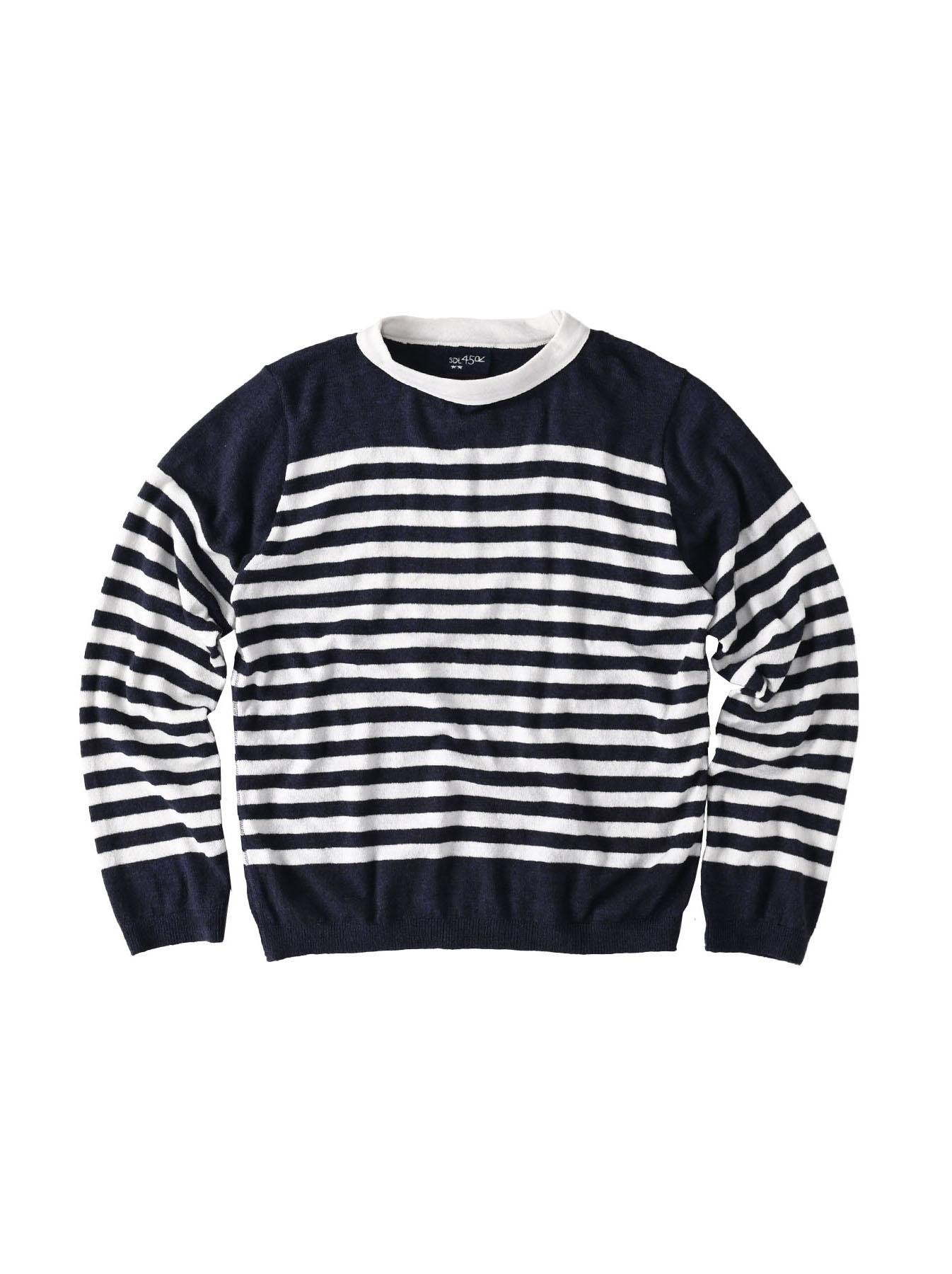 Super Gauze 908 Basque T-shirt Made in Japan (0621)-1