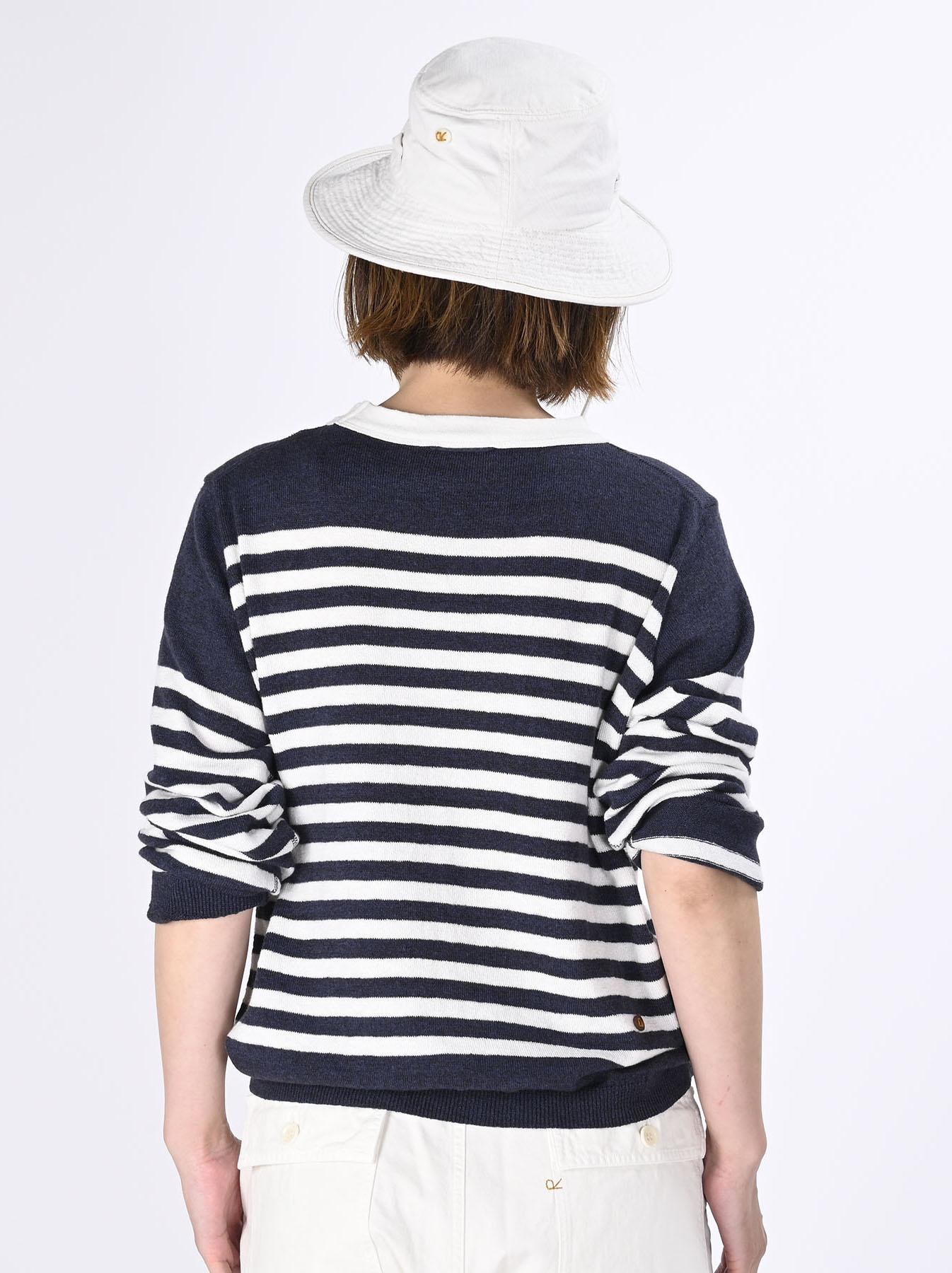 Super Gauze 908 Basque T-shirt Made in Japan (0621)-5