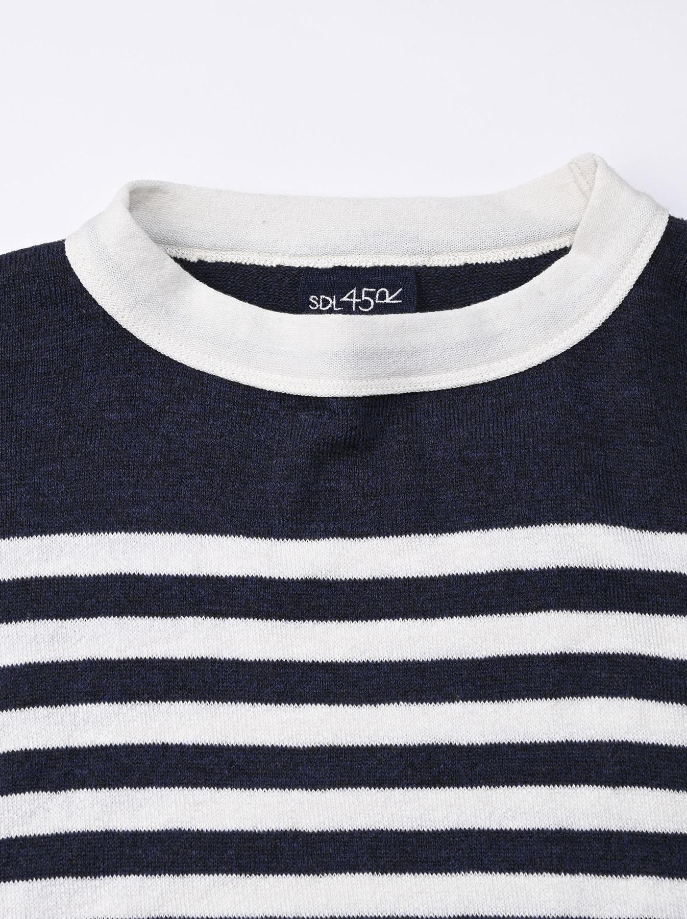 Super Gauze 908 Basque T-shirt Made in Japan (0621)-8