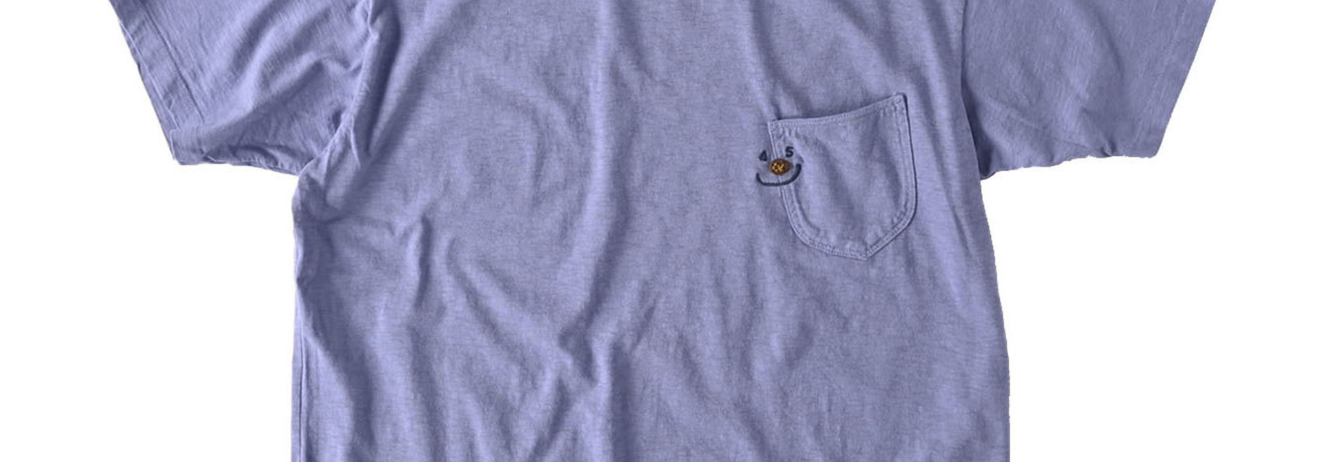Smile R Embroidery 908 Ocean T-shirt (0621)
