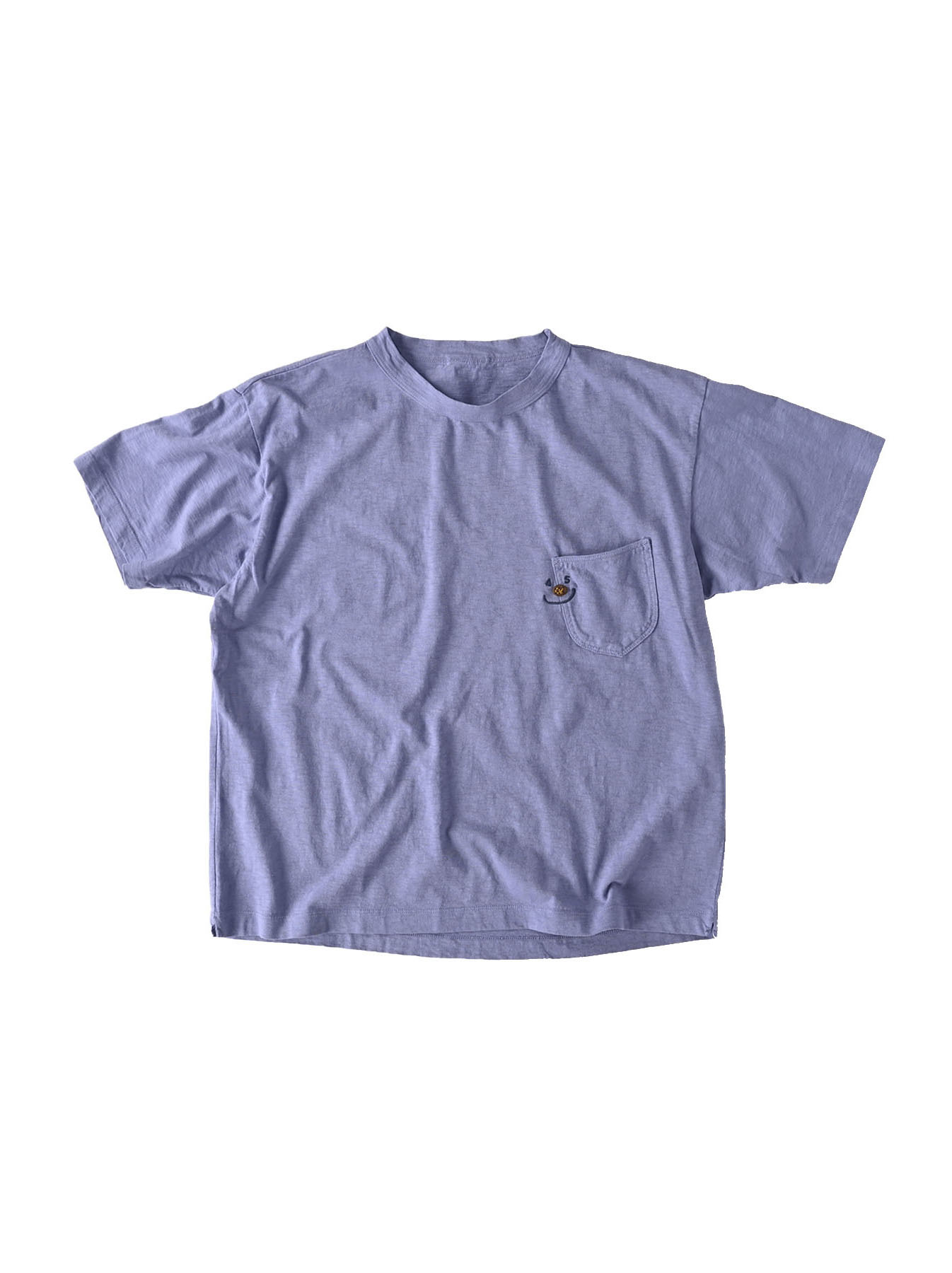 Smile R Embroidery 908 Ocean T-shirt (0621)-1