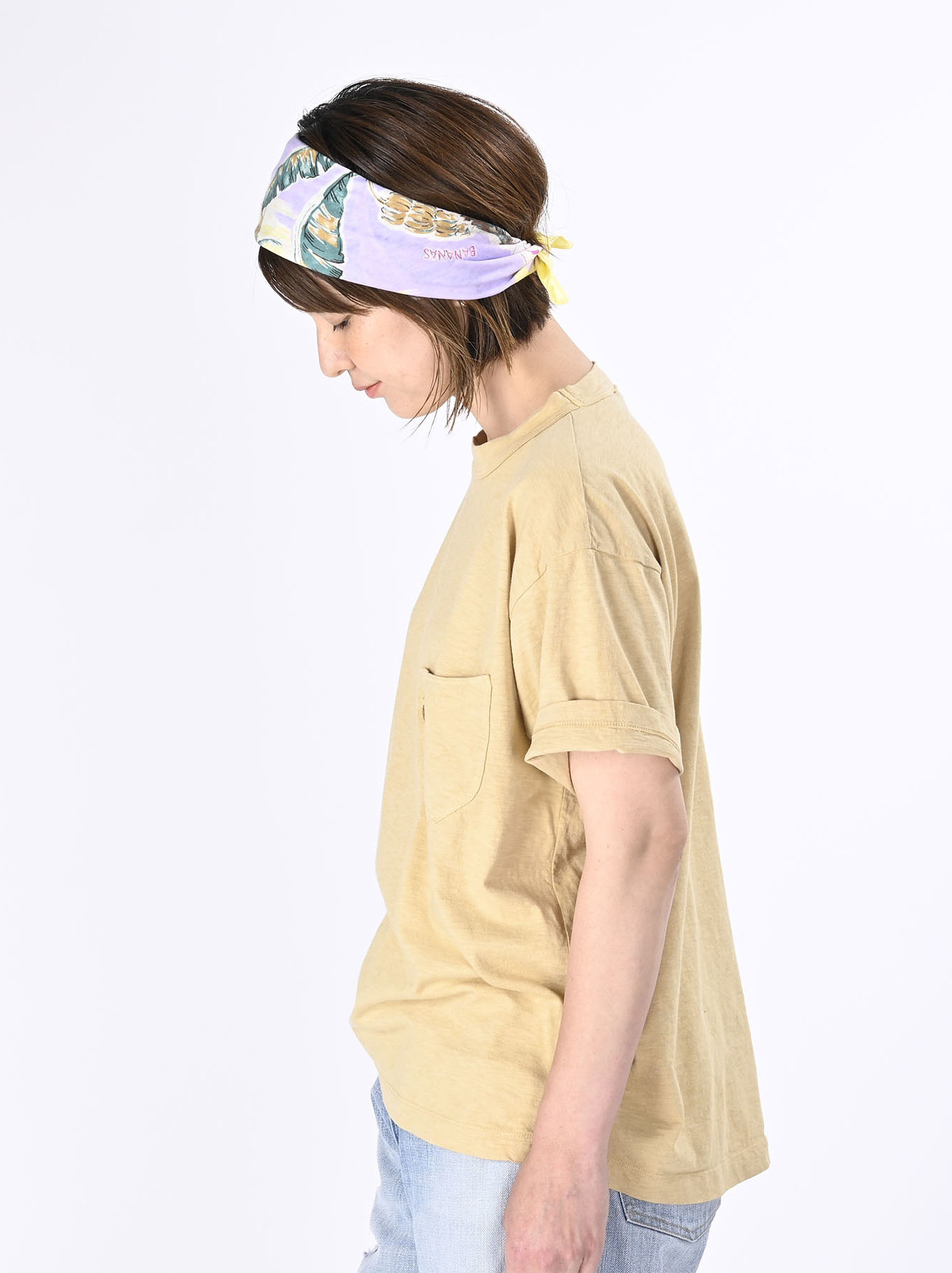 Smile R Embroidery 908 Ocean T-shirt (0621)-5