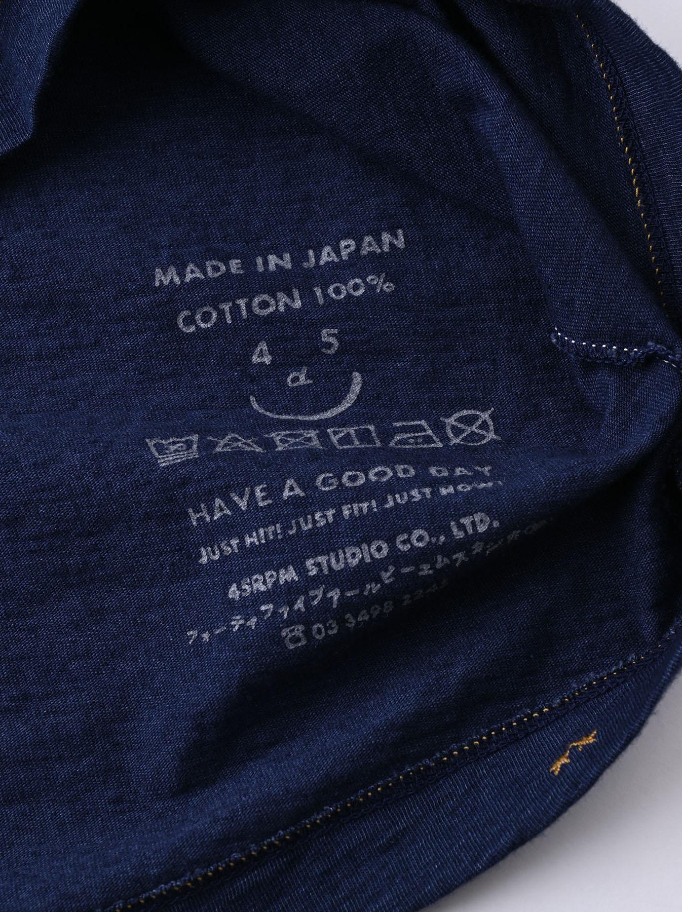 Indigo Ukiyo de Surf 908 Ocean T-shirt (0621)-11