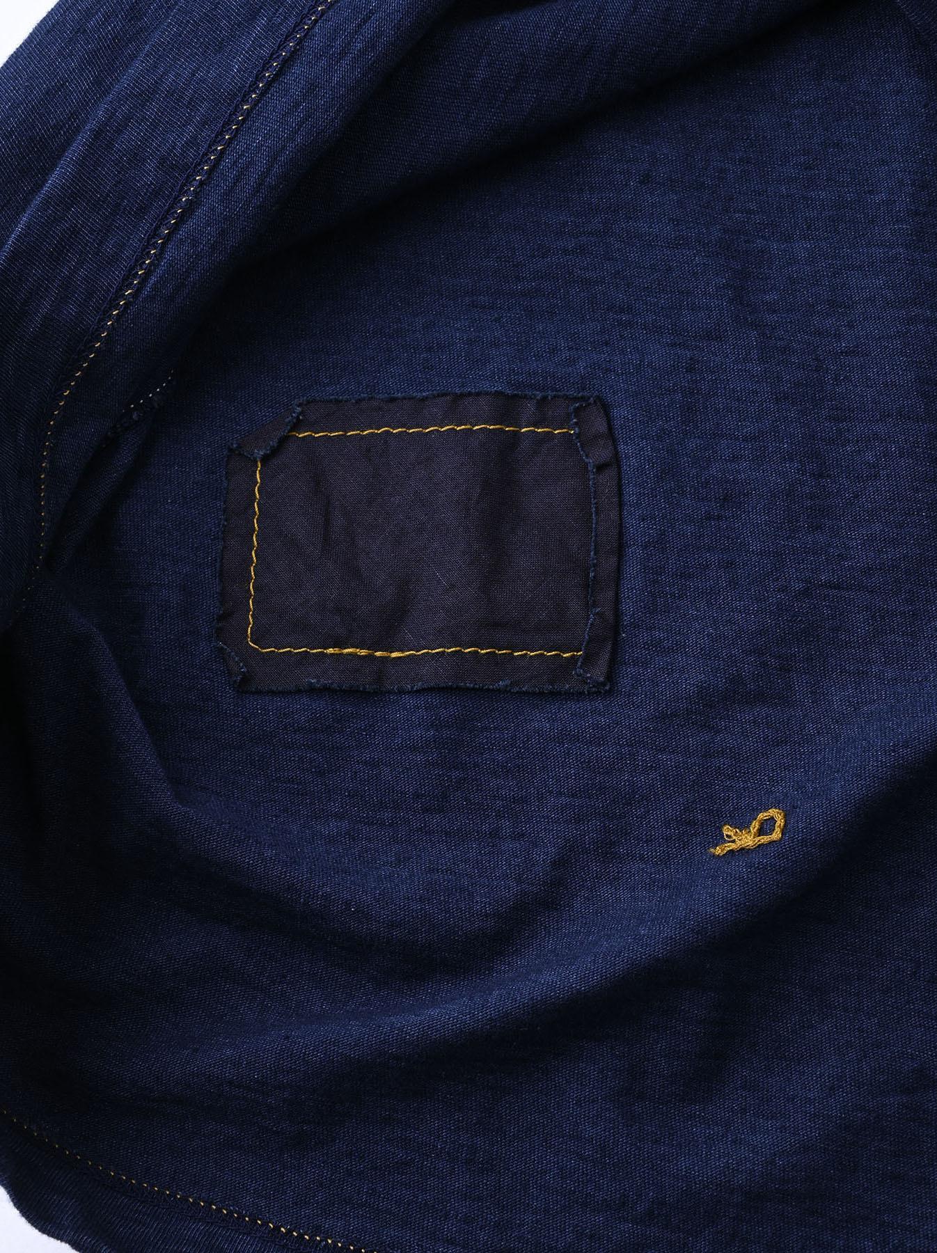 Indigo Ukiyo de Surf 908 Ocean T-shirt (0621)-12
