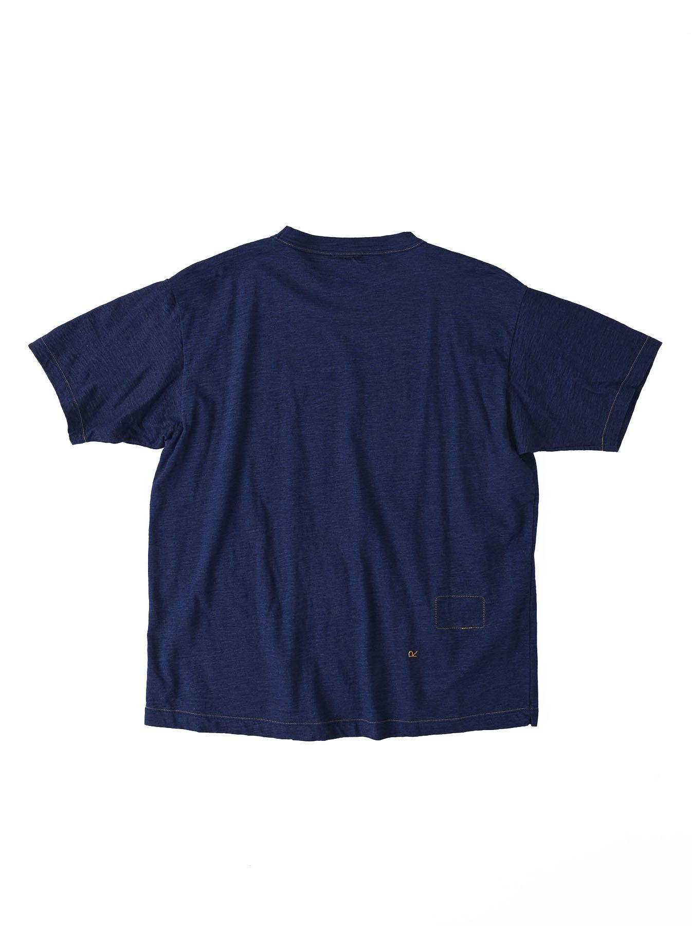 Indigo Ukiyo de Surf 908 Ocean T-shirt (0621)-7