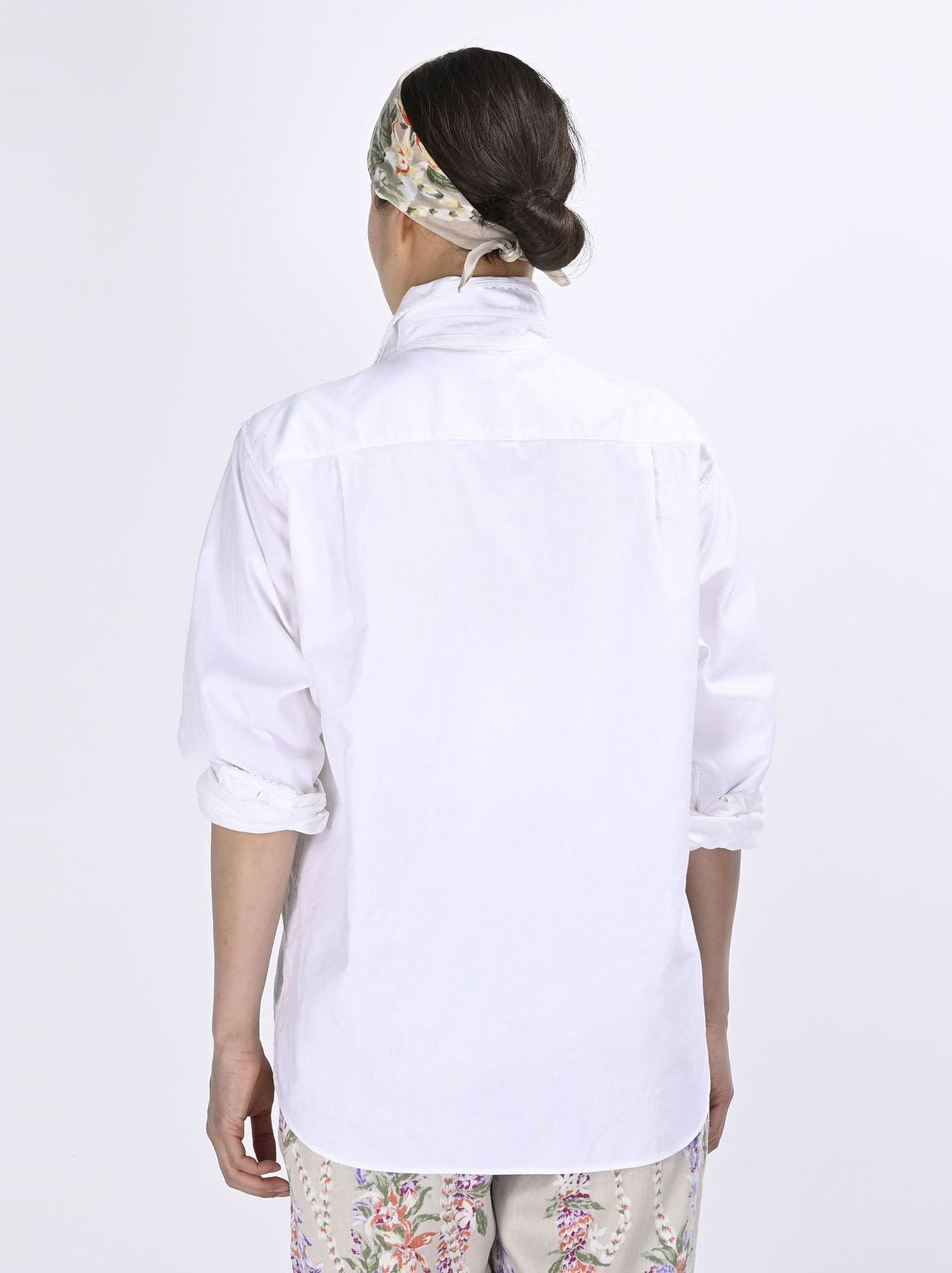 Thin Oxford 908 Ocean Lace Shirt (0621)-5