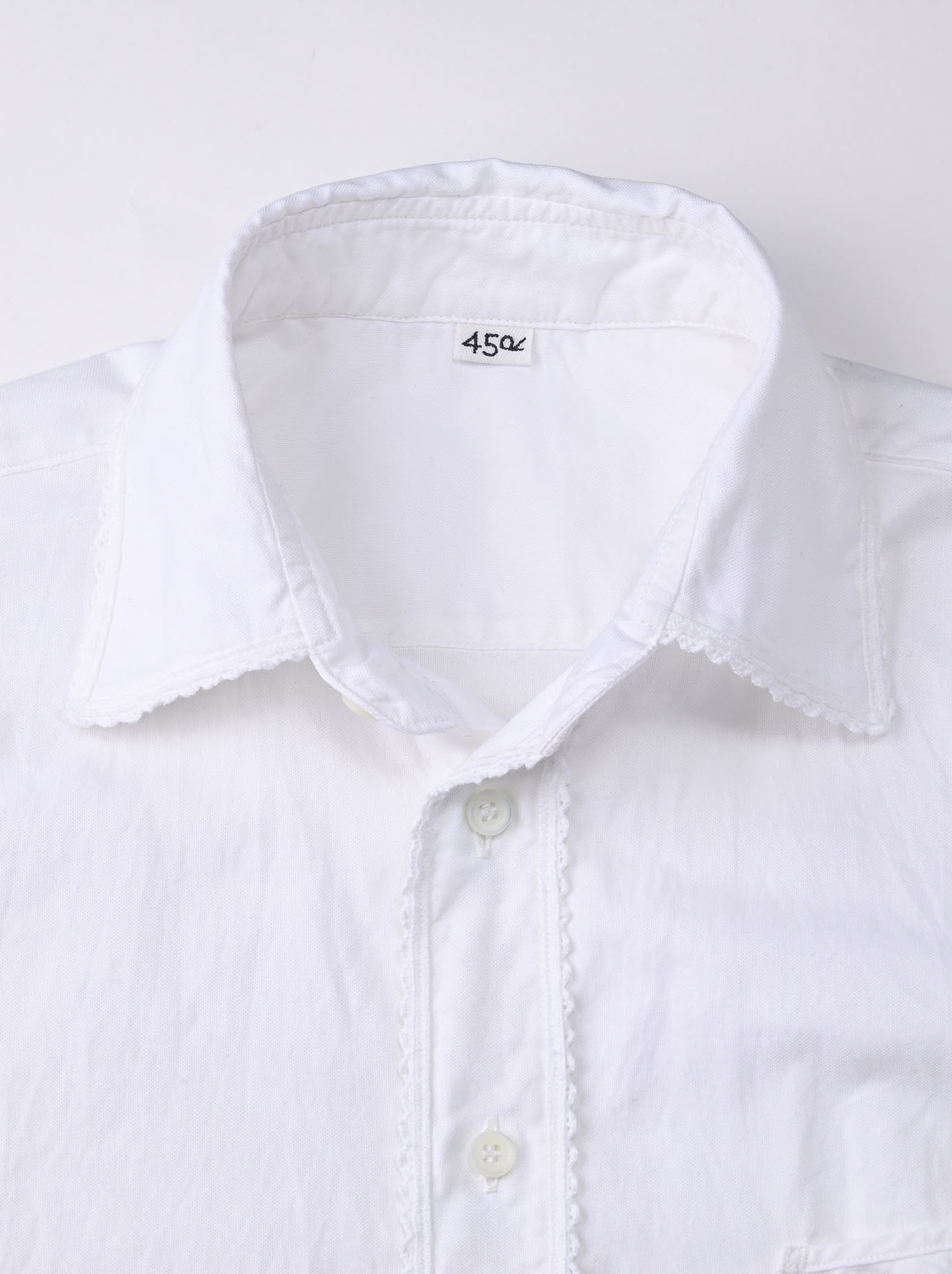 Thin Oxford 908 Ocean Lace Shirt (0621)-6