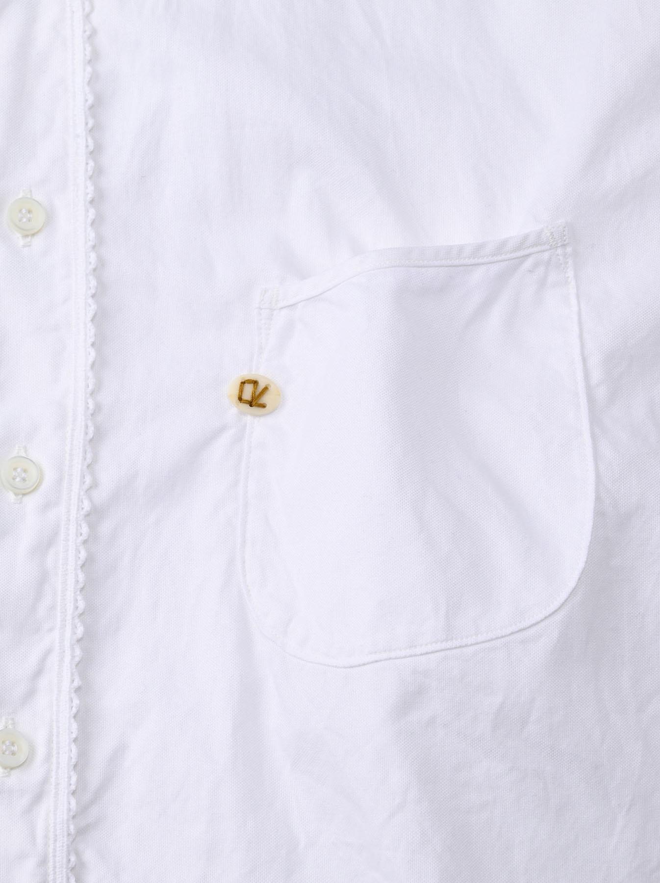 Thin Oxford 908 Ocean Lace Shirt (0621)-12