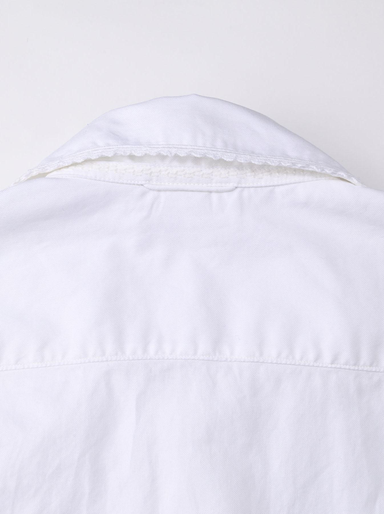 Thin Oxford 908 Ocean Lace Shirt (0621)-8