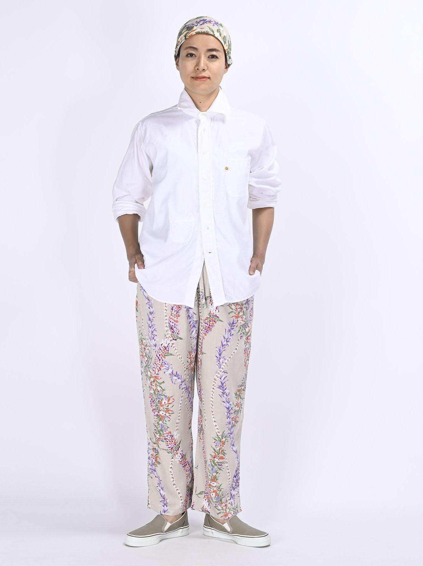 Thin Oxford 908 Ocean Lace Shirt (0621)-2