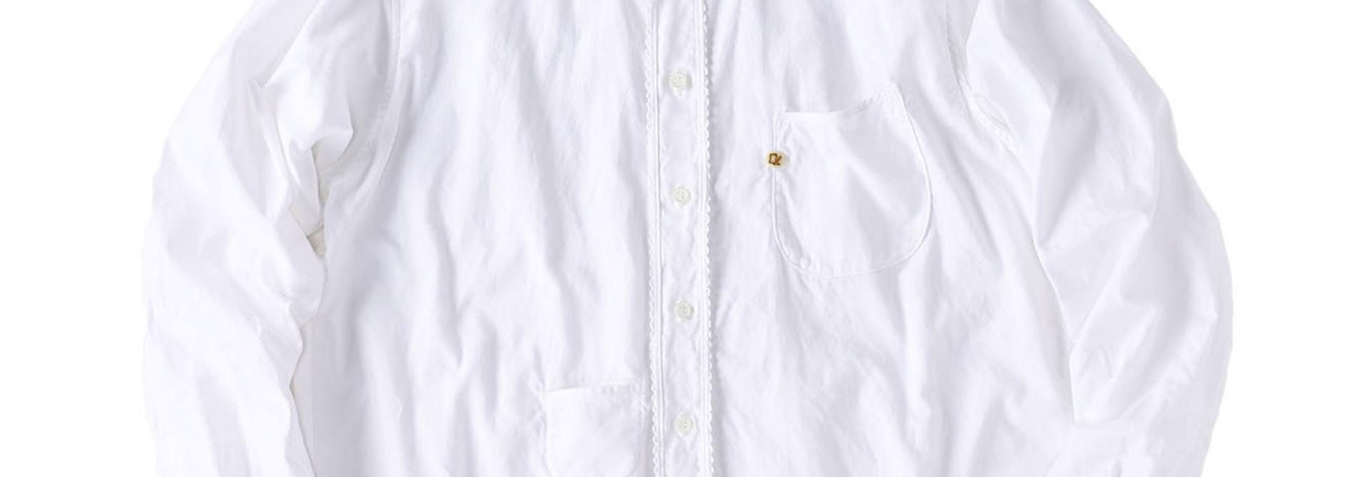 Thin Oxford 908 Ocean Lace Shirt (0621)