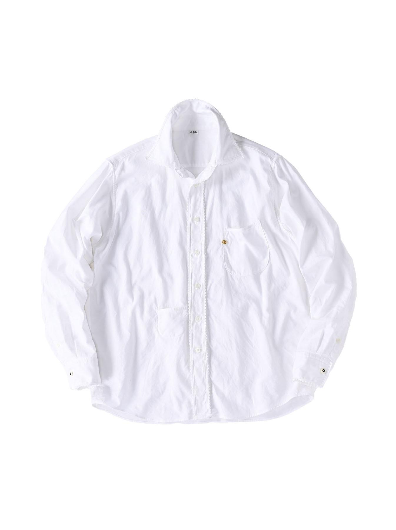 Thin Oxford 908 Ocean Lace Shirt (0621)-1