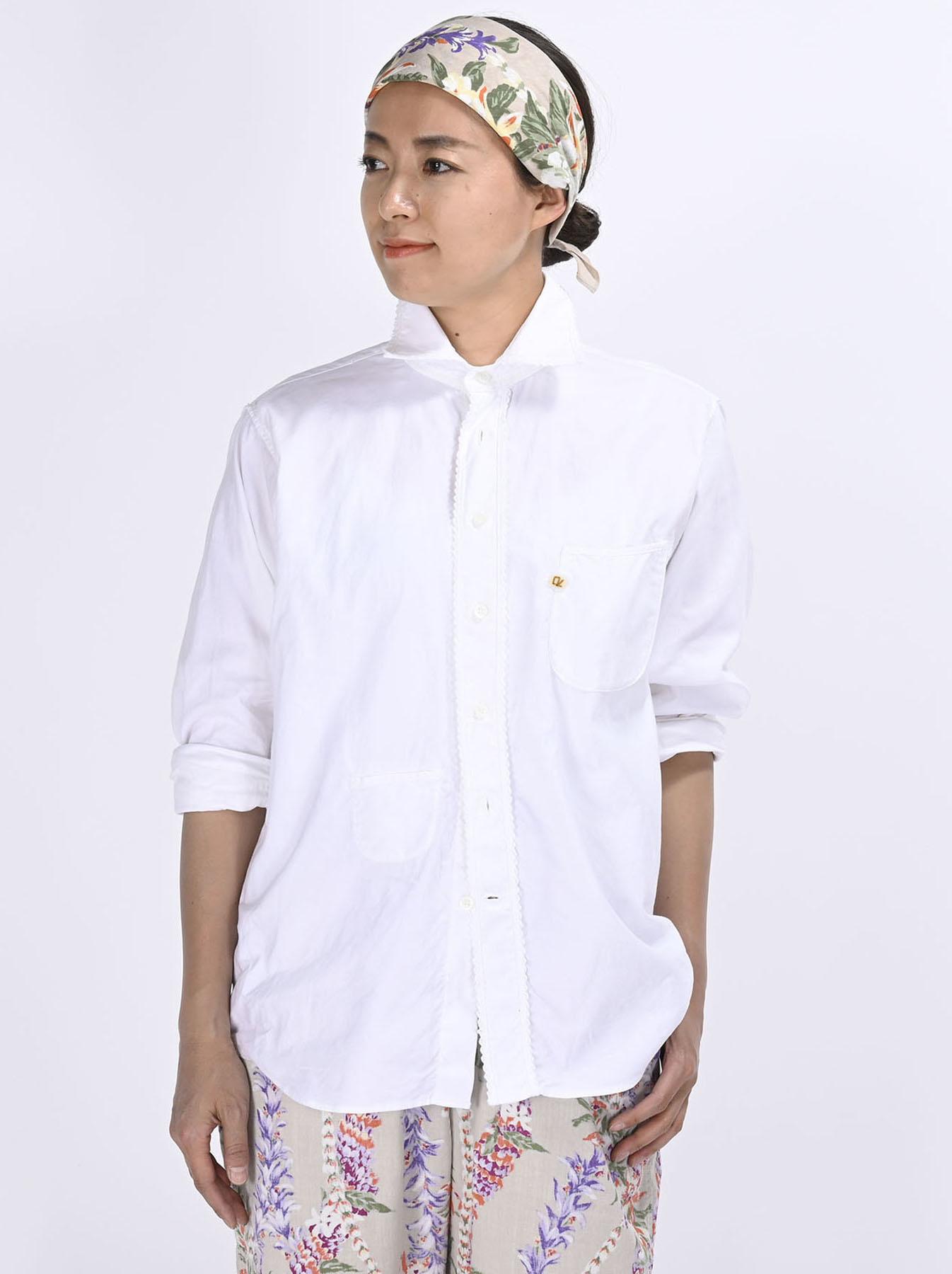 Thin Oxford 908 Ocean Lace Shirt (0621)-3