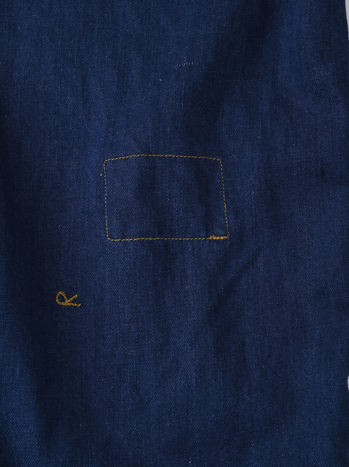 Komugi Denim 908 Ocean Smock (0621)-11