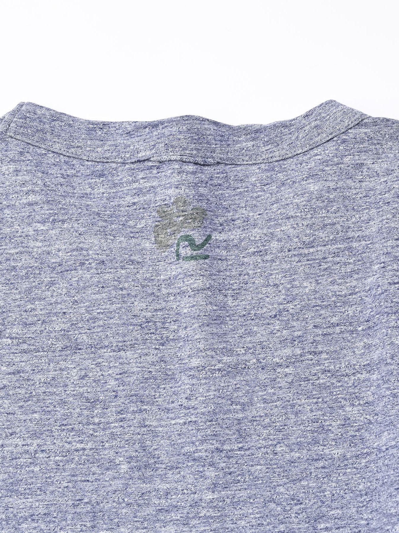 Lei Lei Print Big Slit T-shirt (0621)-11