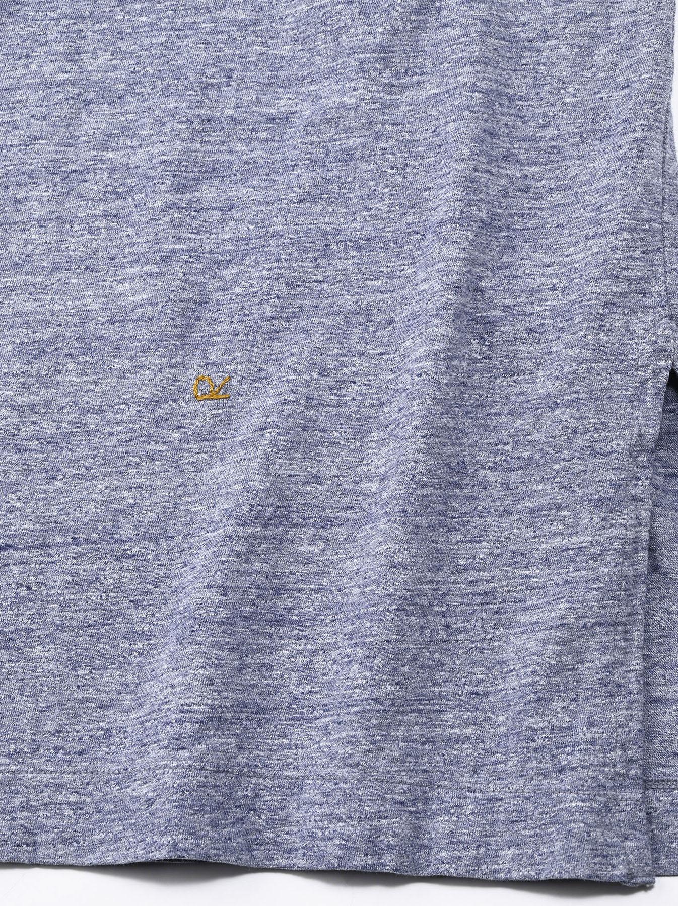 Lei Lei Print Big Slit T-shirt (0621)-12