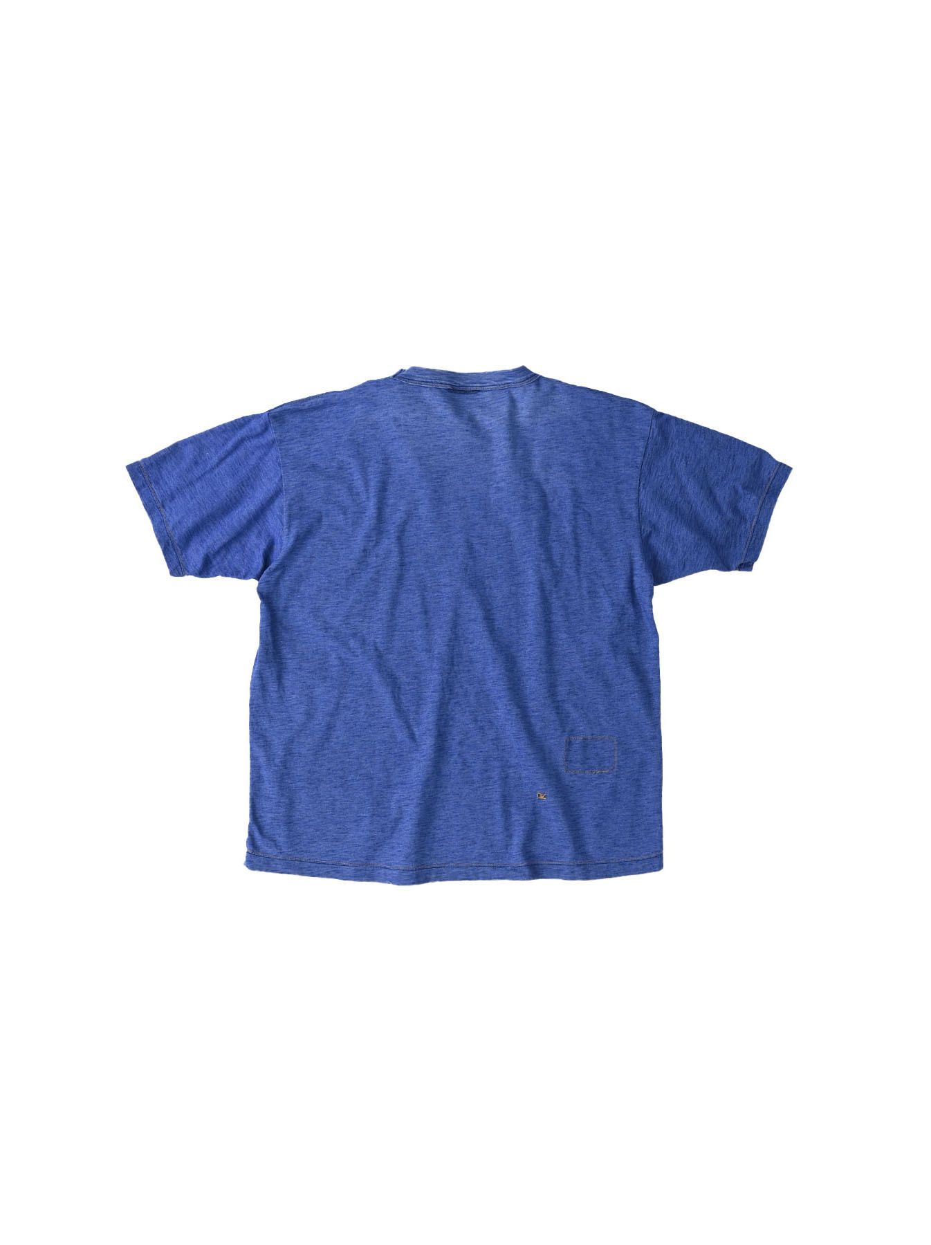 Distressed Indigo Tenjiku 908 Ocean T-Shirt (0621)-6