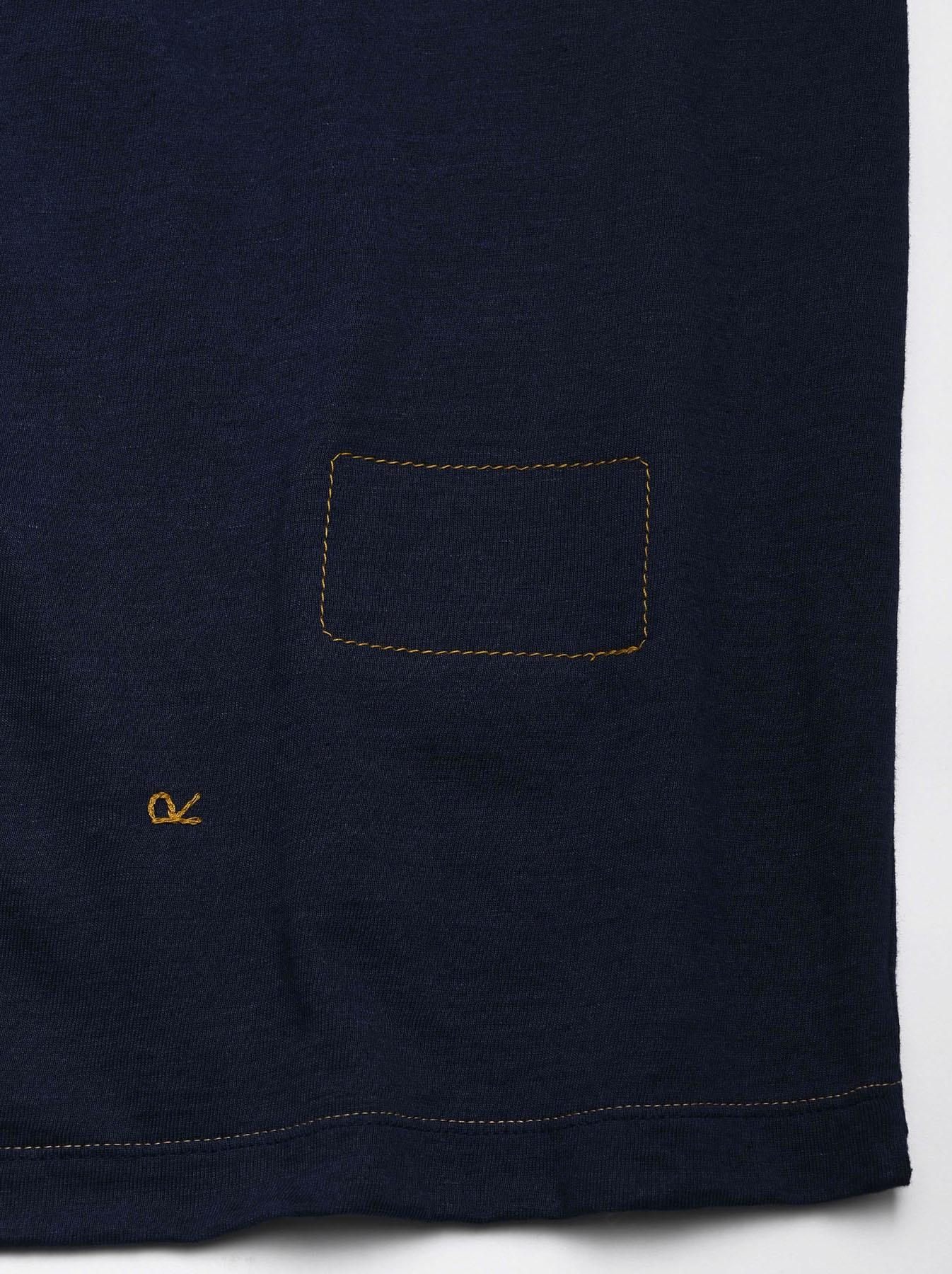 Indigo Tenjiku 908 Ocean T-Shirt (0621)-9