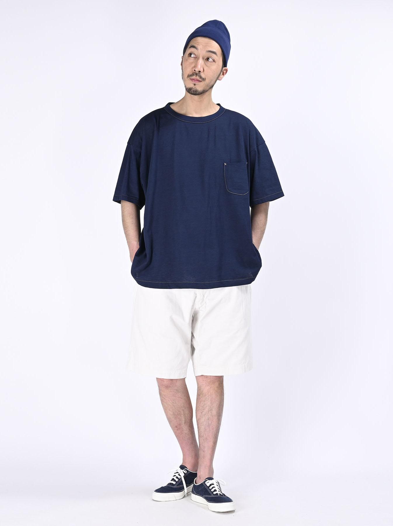 Indigo Tenjiku 908 Ocean T-Shirt (0621)-2