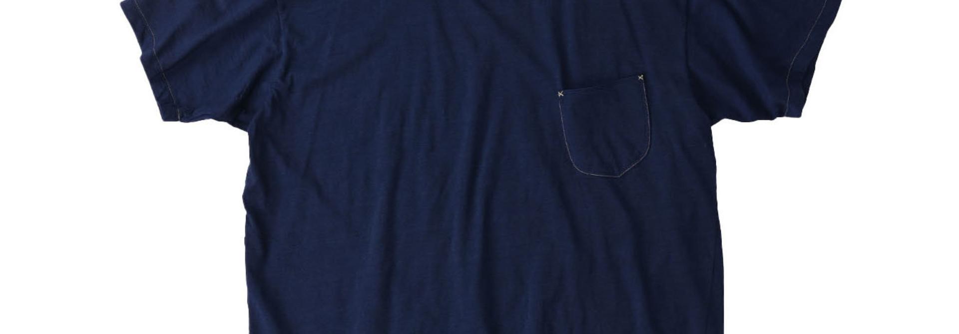 Indigo Tenjiku 908 Ocean T-Shirt (0621)