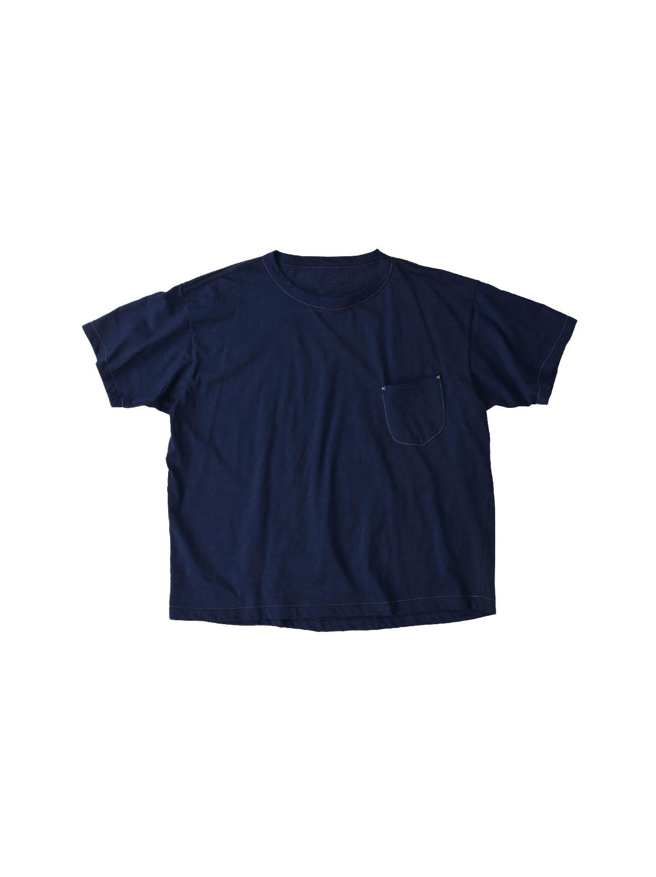 Indigo Tenjiku 908 Ocean T-Shirt (0621)-1