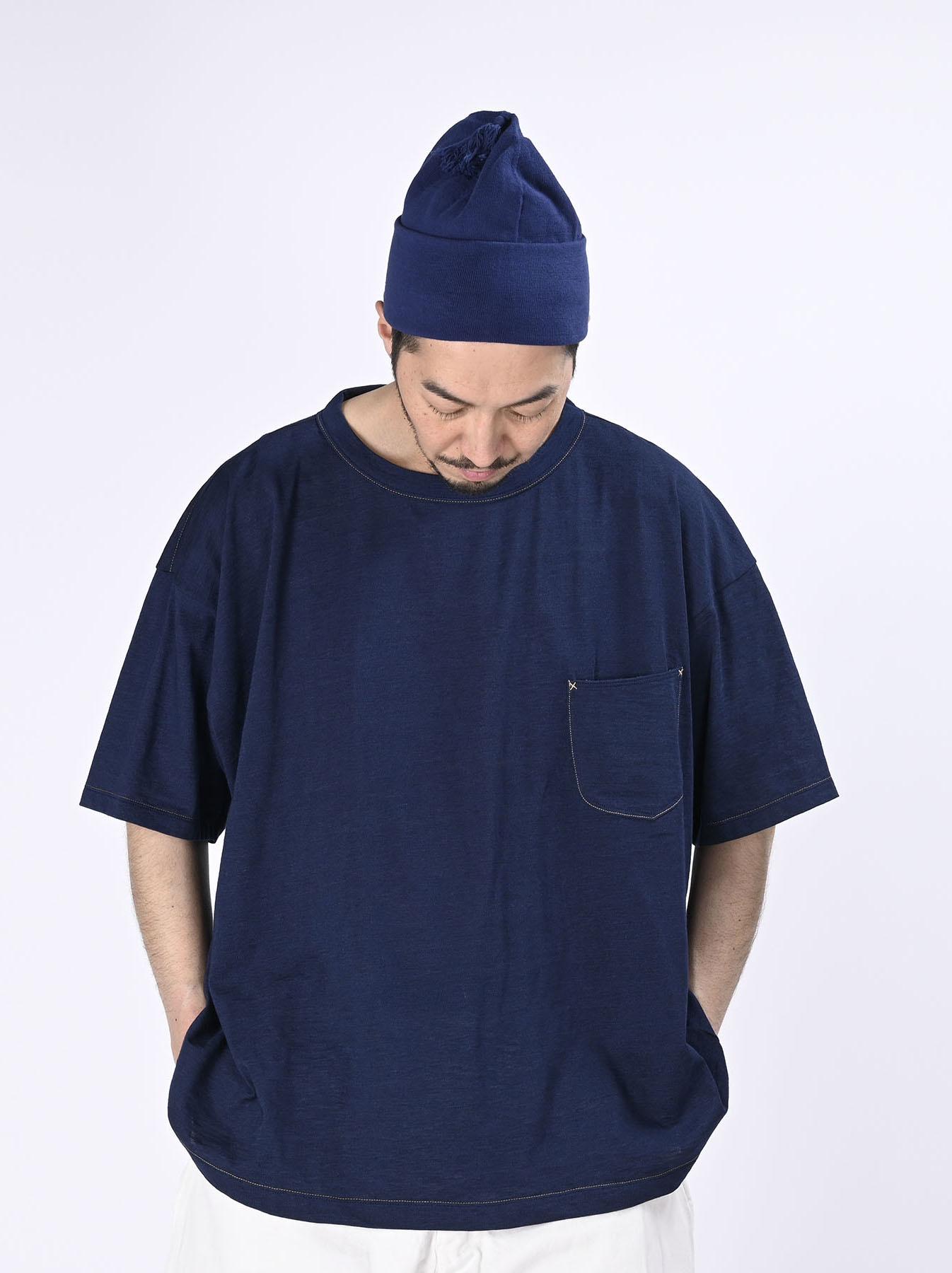 Indigo Tenjiku 908 Ocean T-Shirt (0621)-3