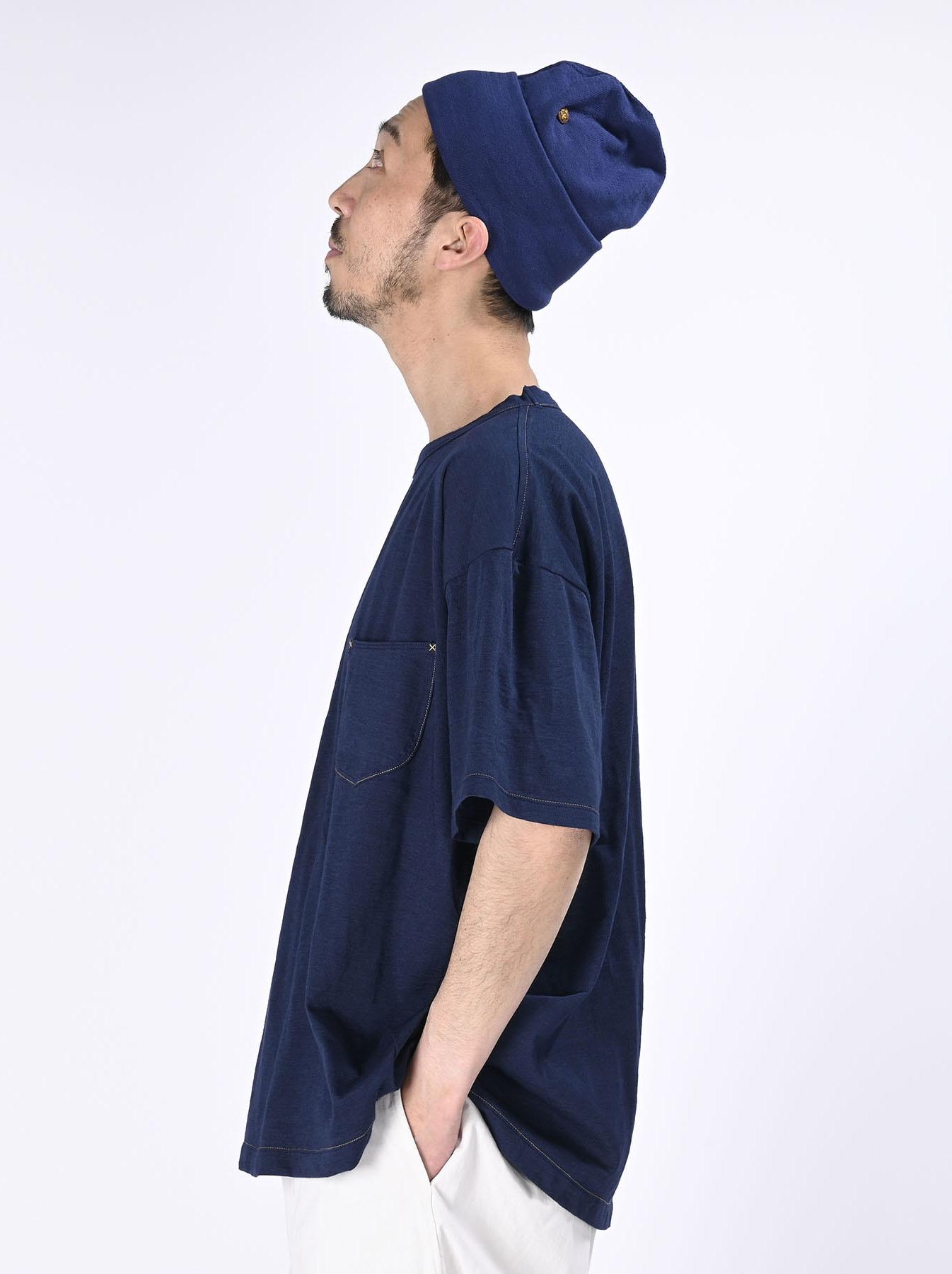 Indigo Tenjiku 908 Ocean T-Shirt (0621)-4