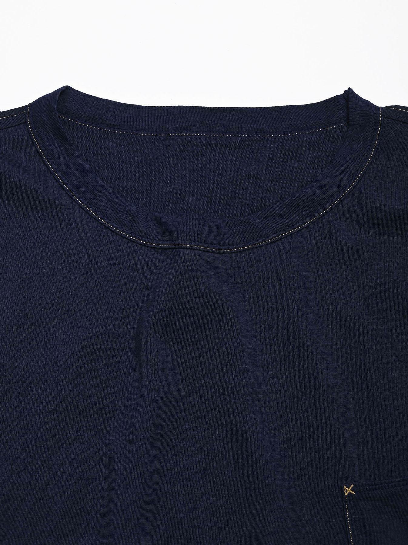 Indigo Tenjiku 908 Ocean T-Shirt (0621)-7