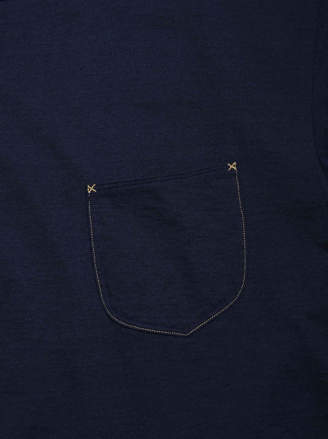 Indigo Tenjiku 908 Ocean T-Shirt (0621)-11