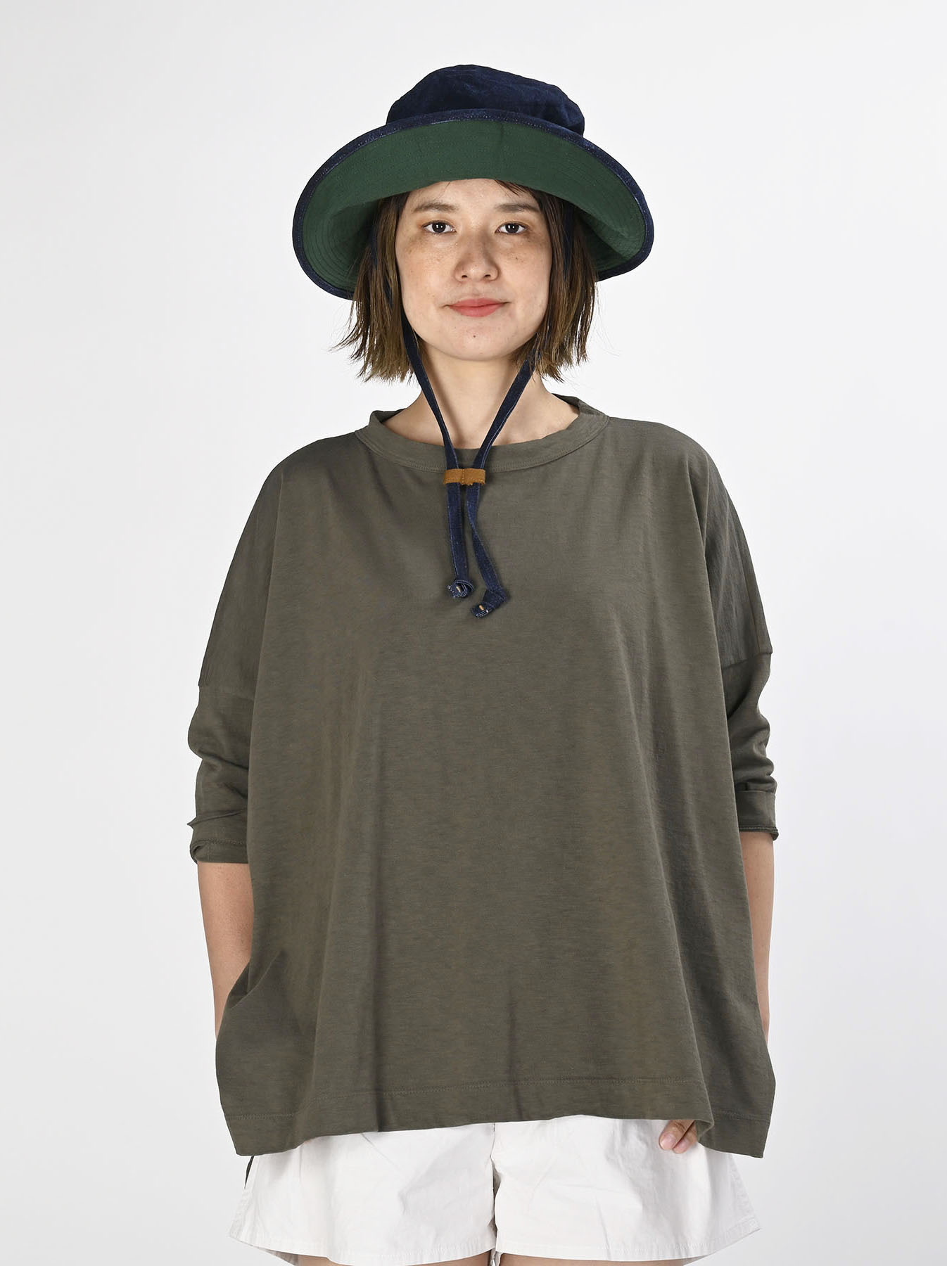 Zimbabwe Cotton Big Slit T-shirt (0721)-3
