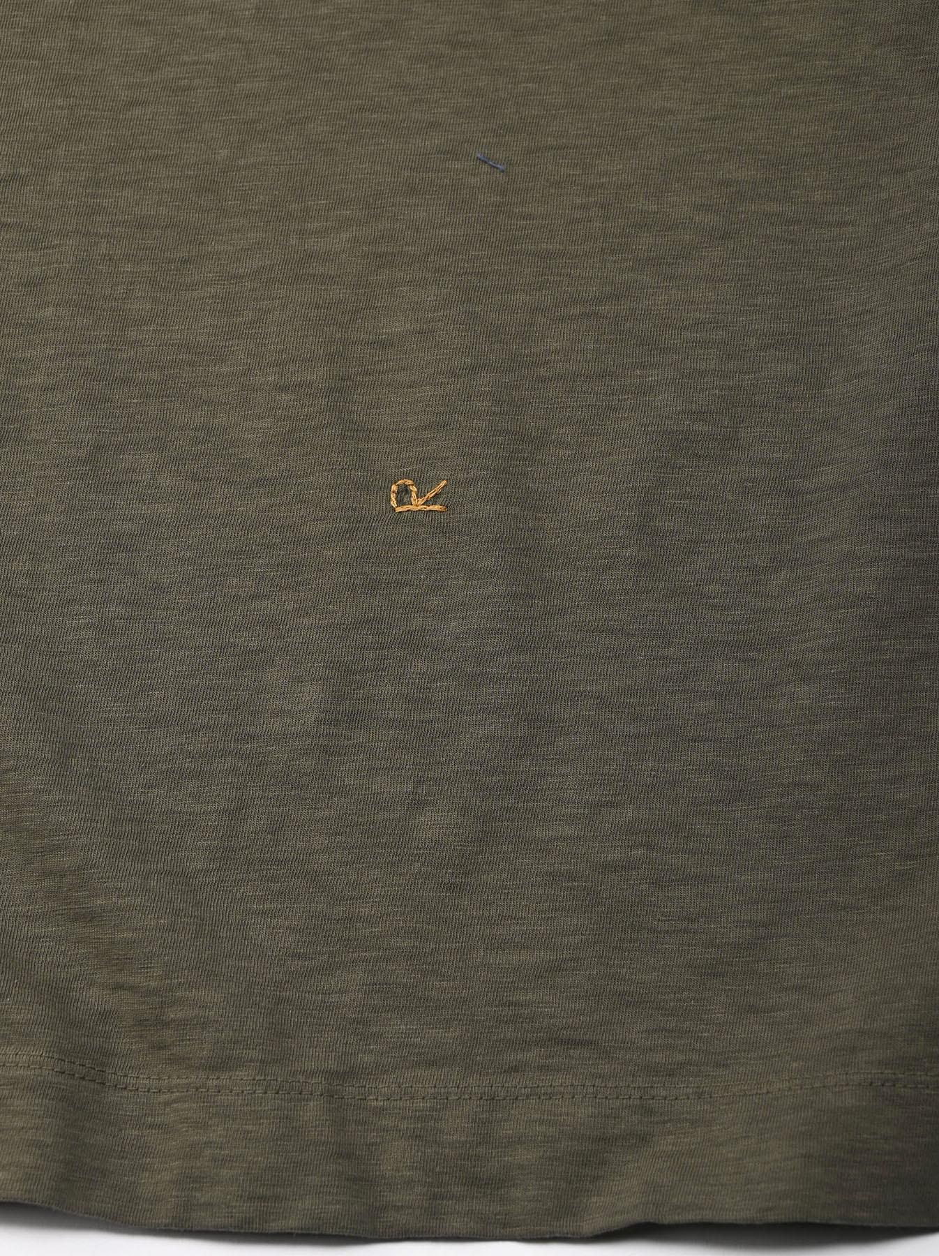 Zimbabwe Cotton Big Slit T-shirt (0721)-6