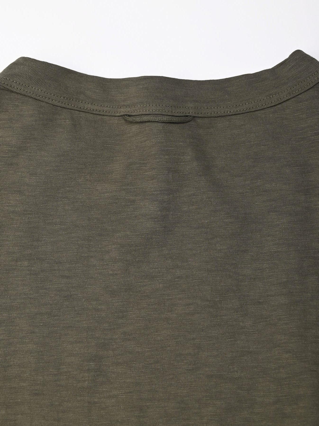 Zimbabwe Cotton Big Slit T-shirt (0721)-7