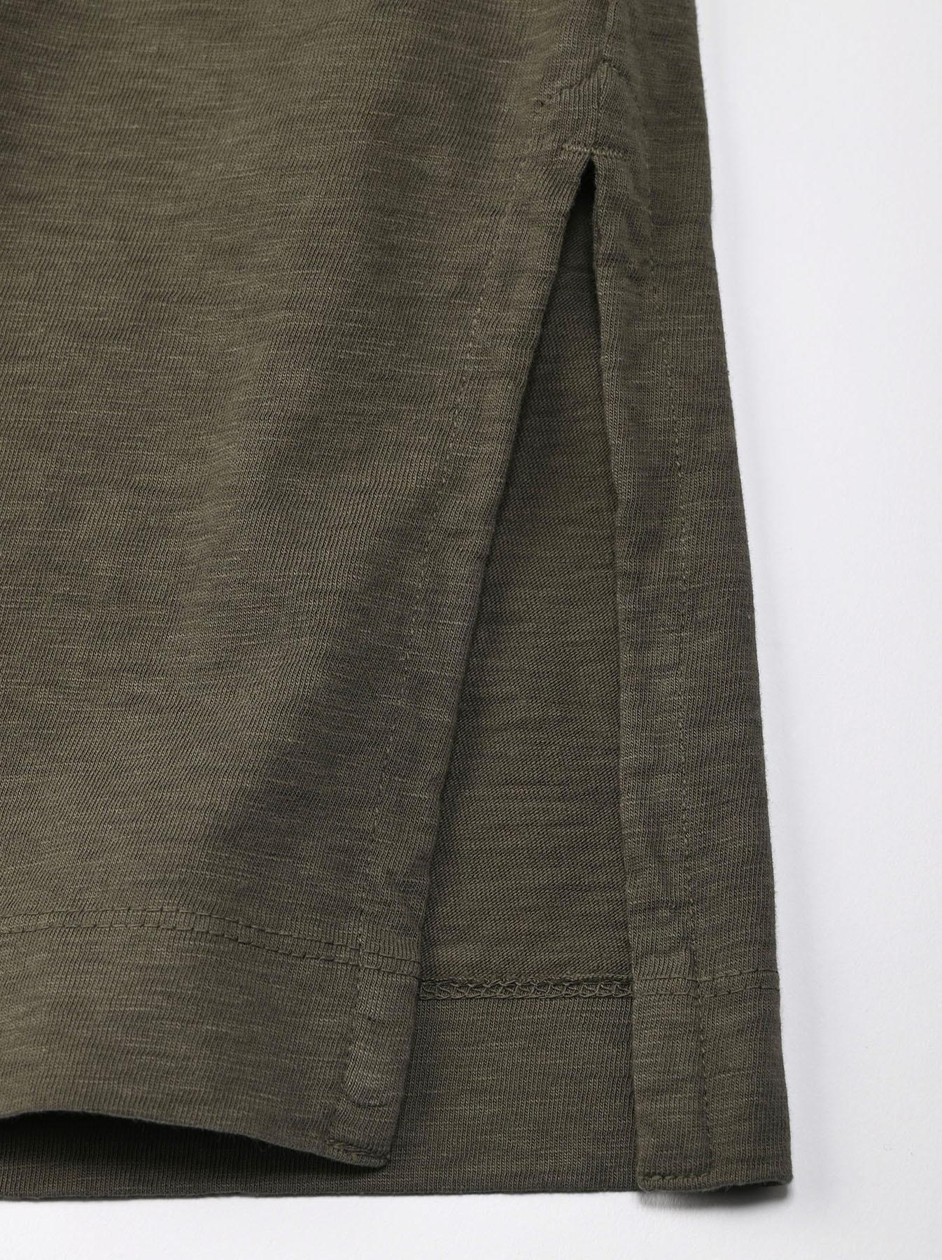 Zimbabwe Cotton Big Slit T-shirt (0721)-8