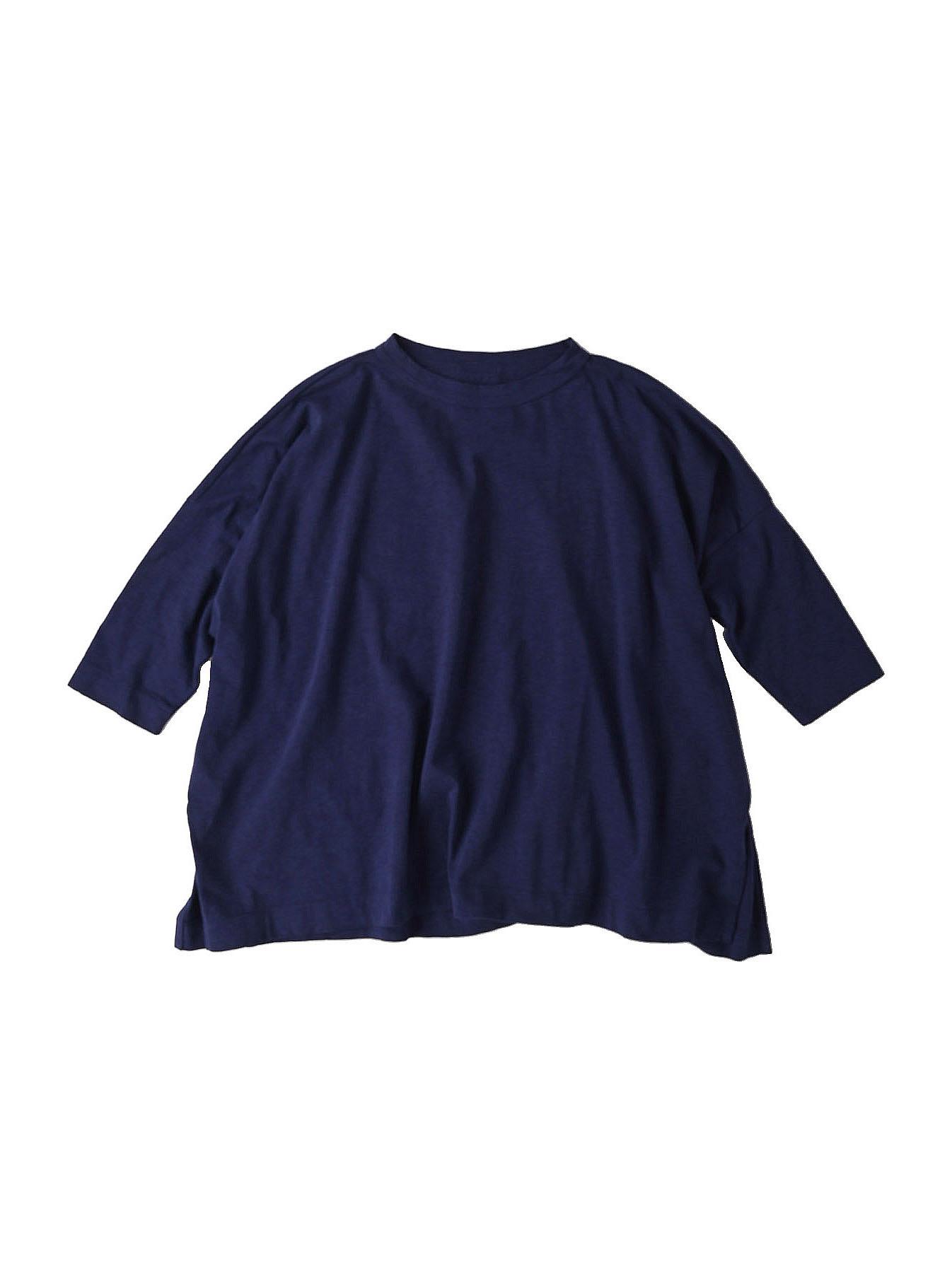 Zimbabwe Cotton Big Slit T-shirt (0721)-11