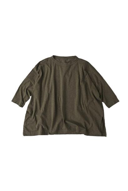 Zimbabwe Cotton Big Slit T-shirt