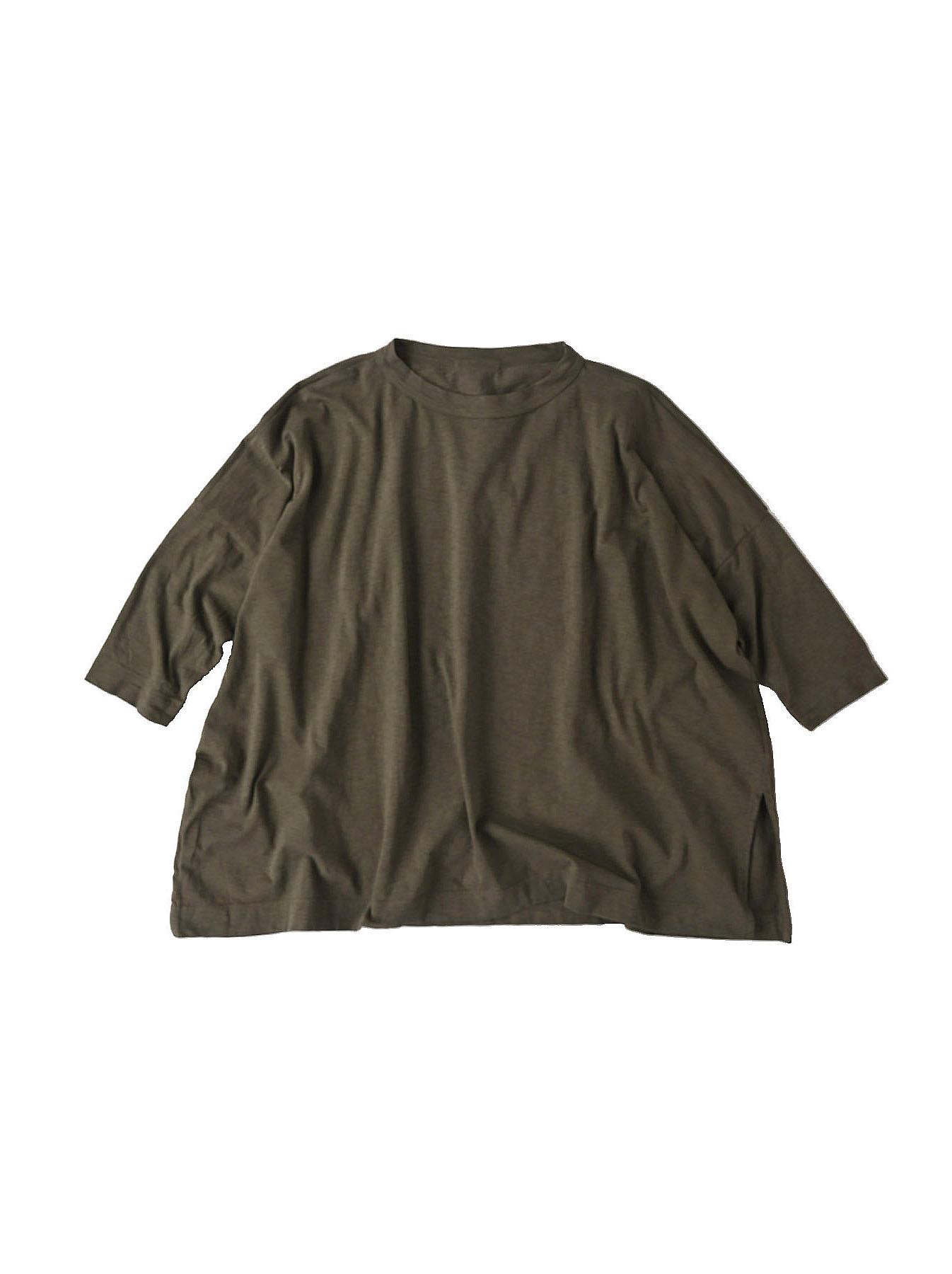 Zimbabwe Cotton Big Slit T-shirt (0721)-2