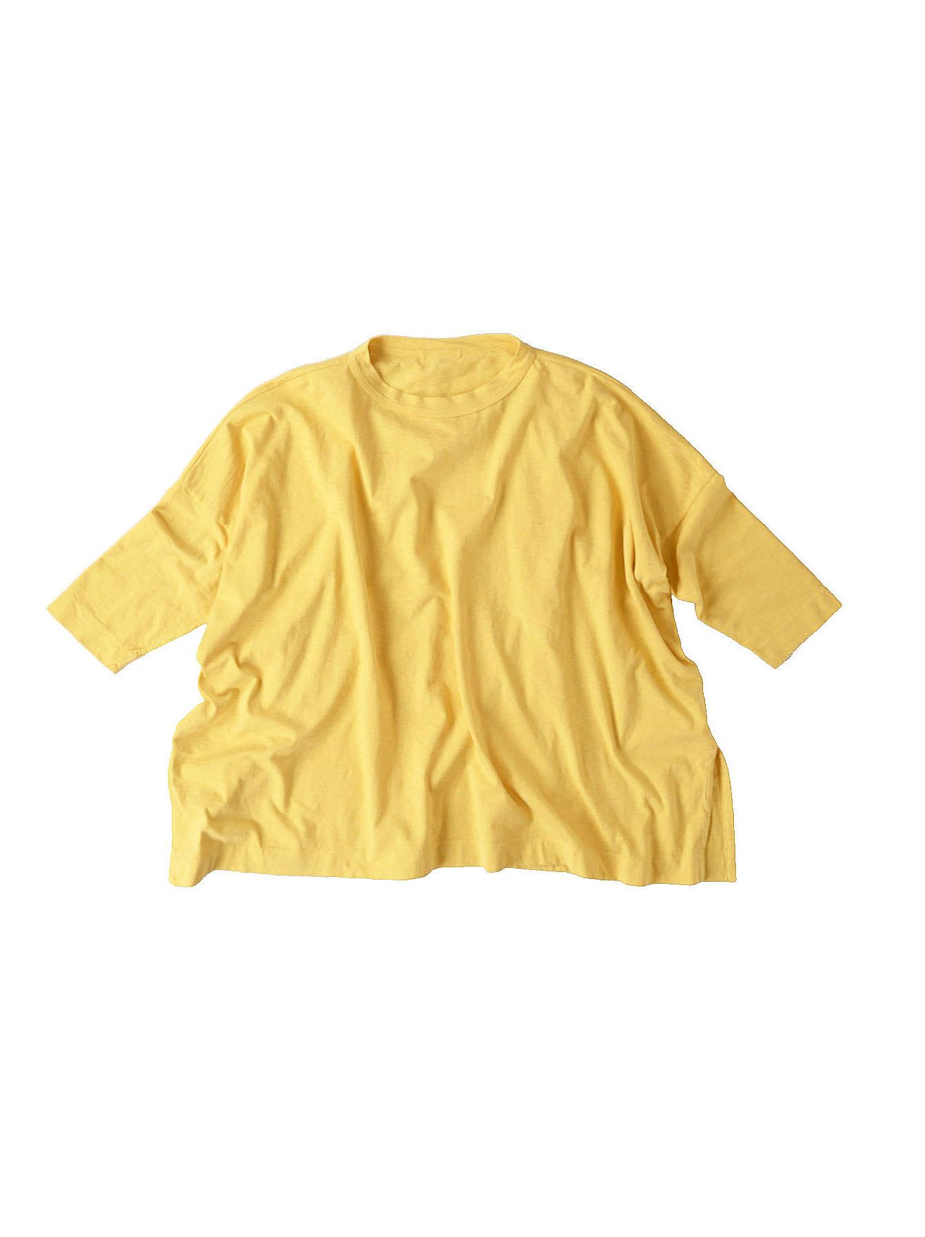 Zimbabwe Cotton Big Slit T-shirt (0721)-12