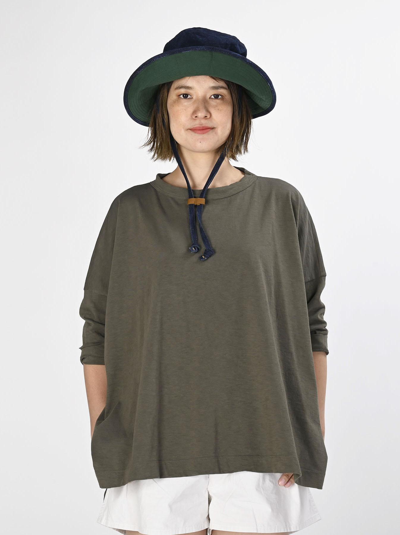 Zimbabwe Cotton Big Slit T-shirt (0721)-5