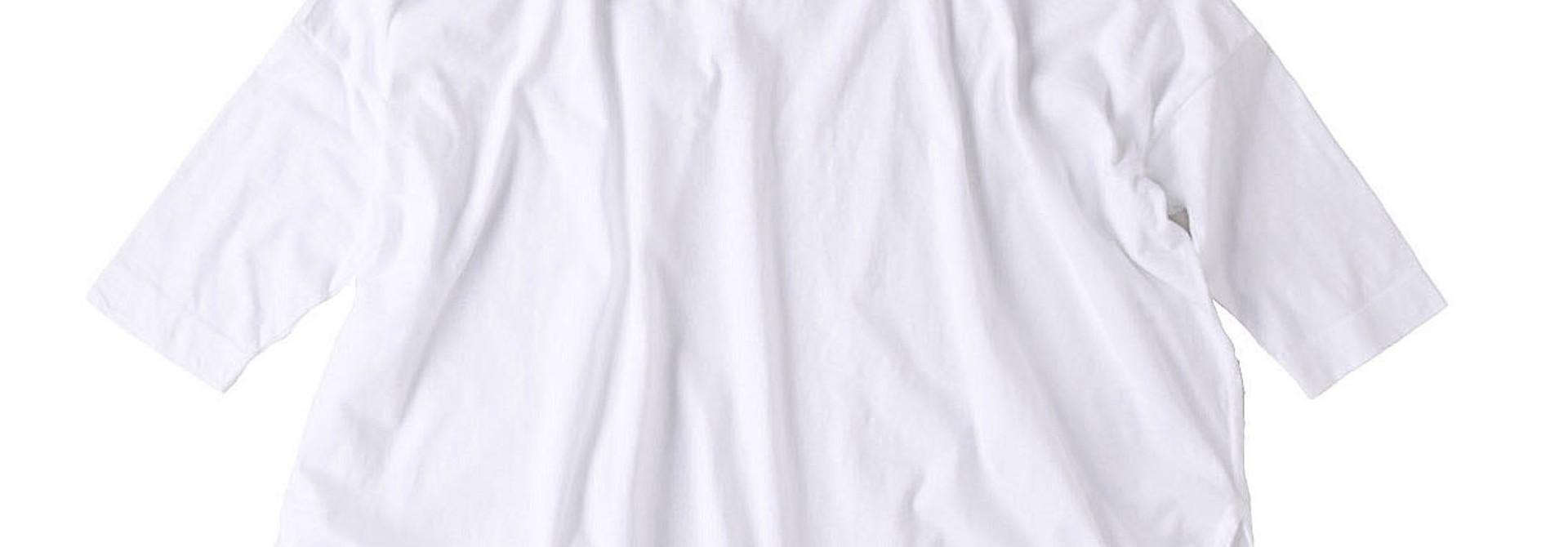 Zimbabwe Cotton Big Slit T-shirt (0721)