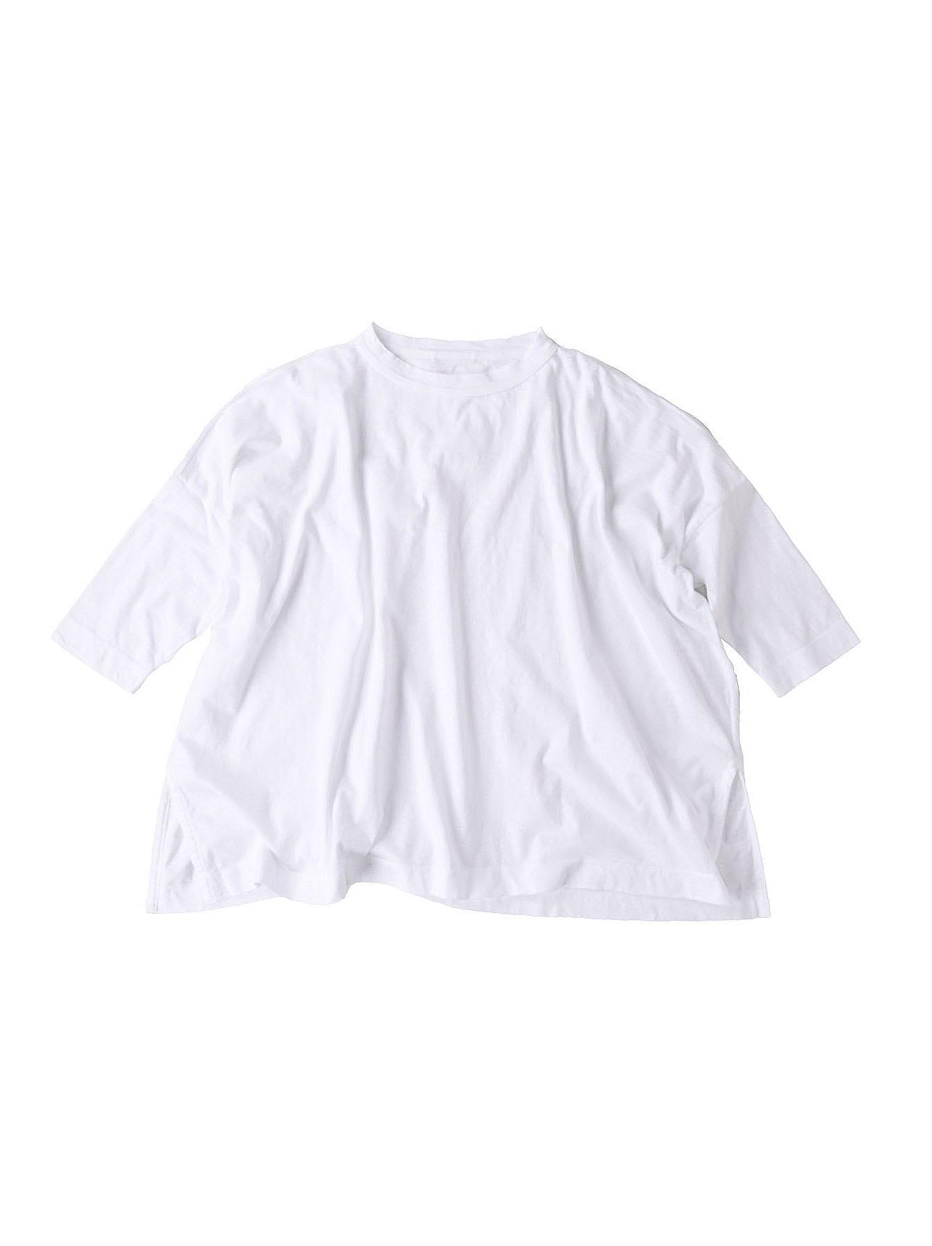 Zimbabwe Cotton Big Slit T-shirt (0721)-1