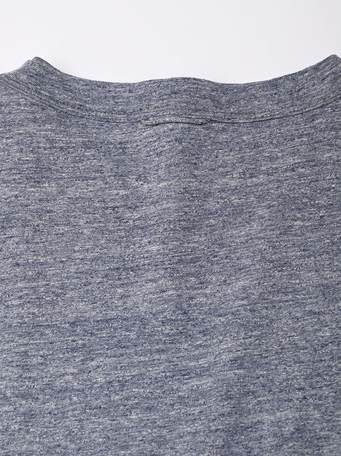 Top Zimbabwe Cotton Big Slit T-shirt (0721)-8