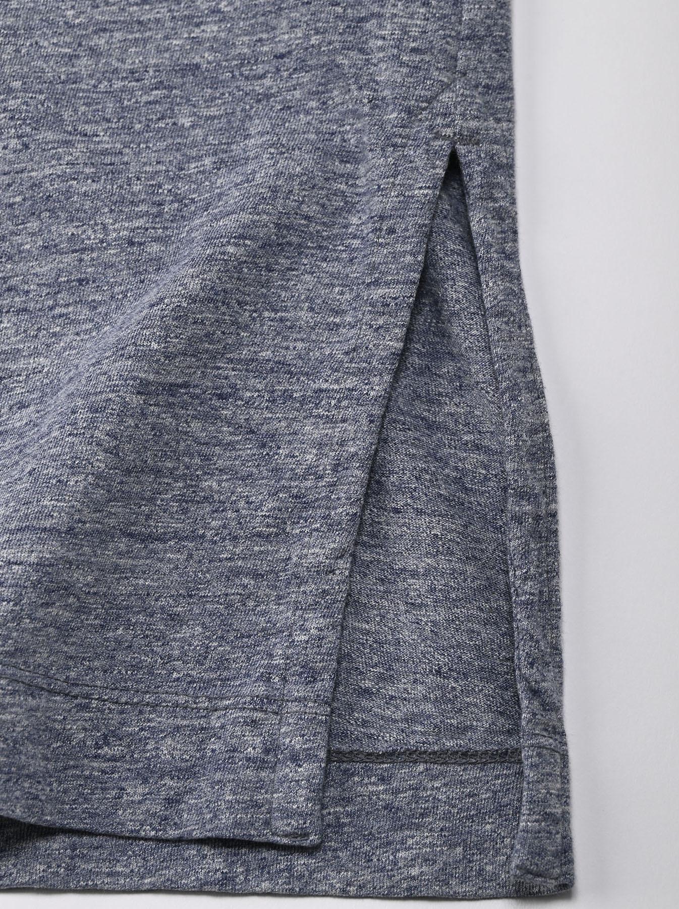 Top Zimbabwe Cotton Big Slit T-shirt (0721)-6